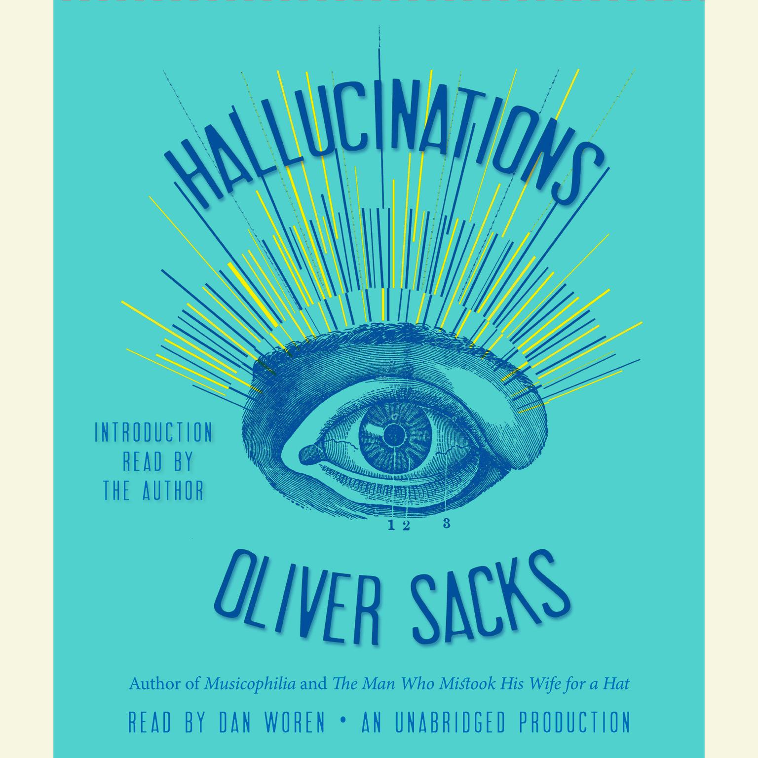 Printable Hallucinations Audiobook Cover Art