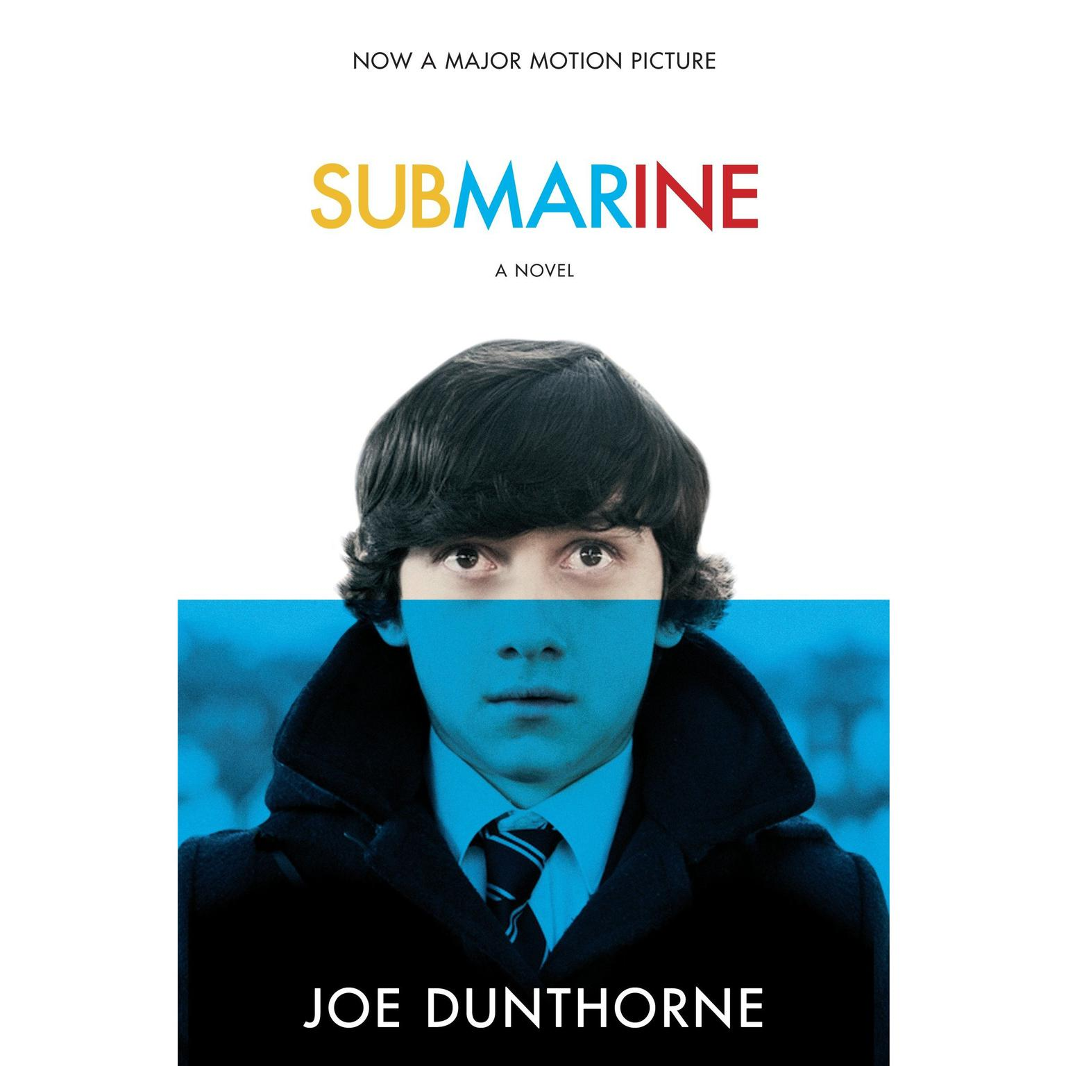 Printable Submarine: A Novel Audiobook Cover Art