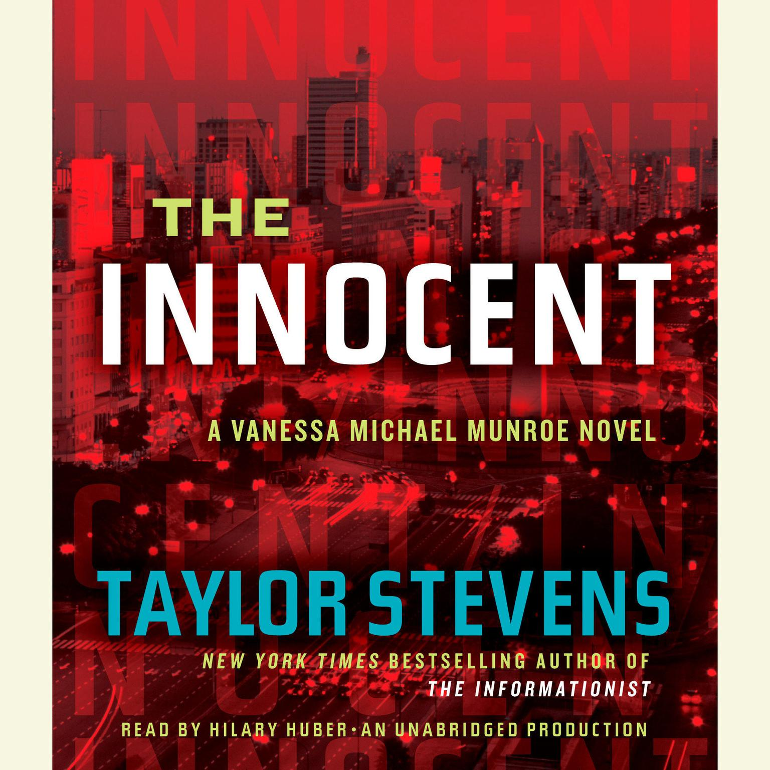 Printable The Innocent: A Vanessa Michael Munroe Novel Audiobook Cover Art