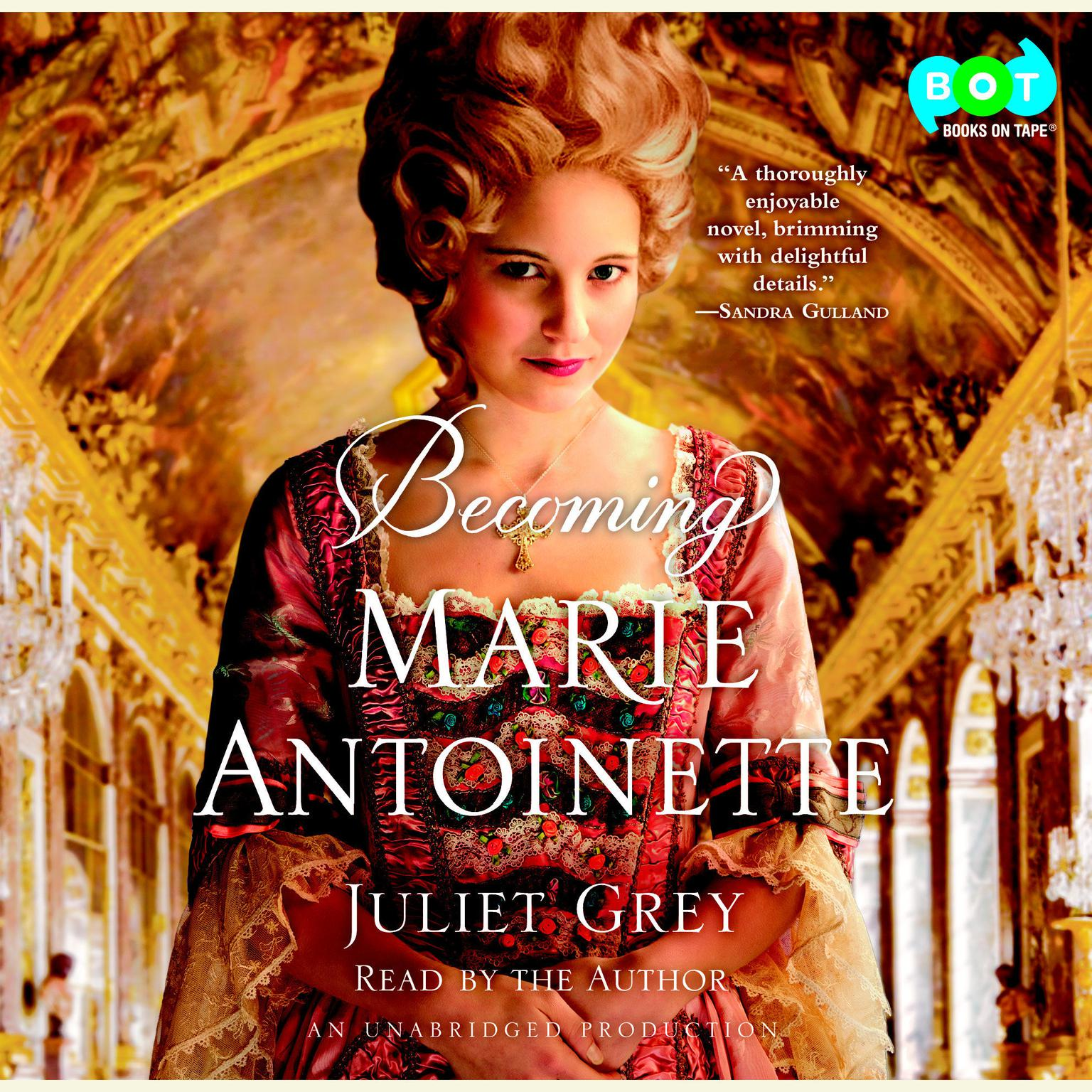 Printable Becoming Marie Antoinette Audiobook Cover Art