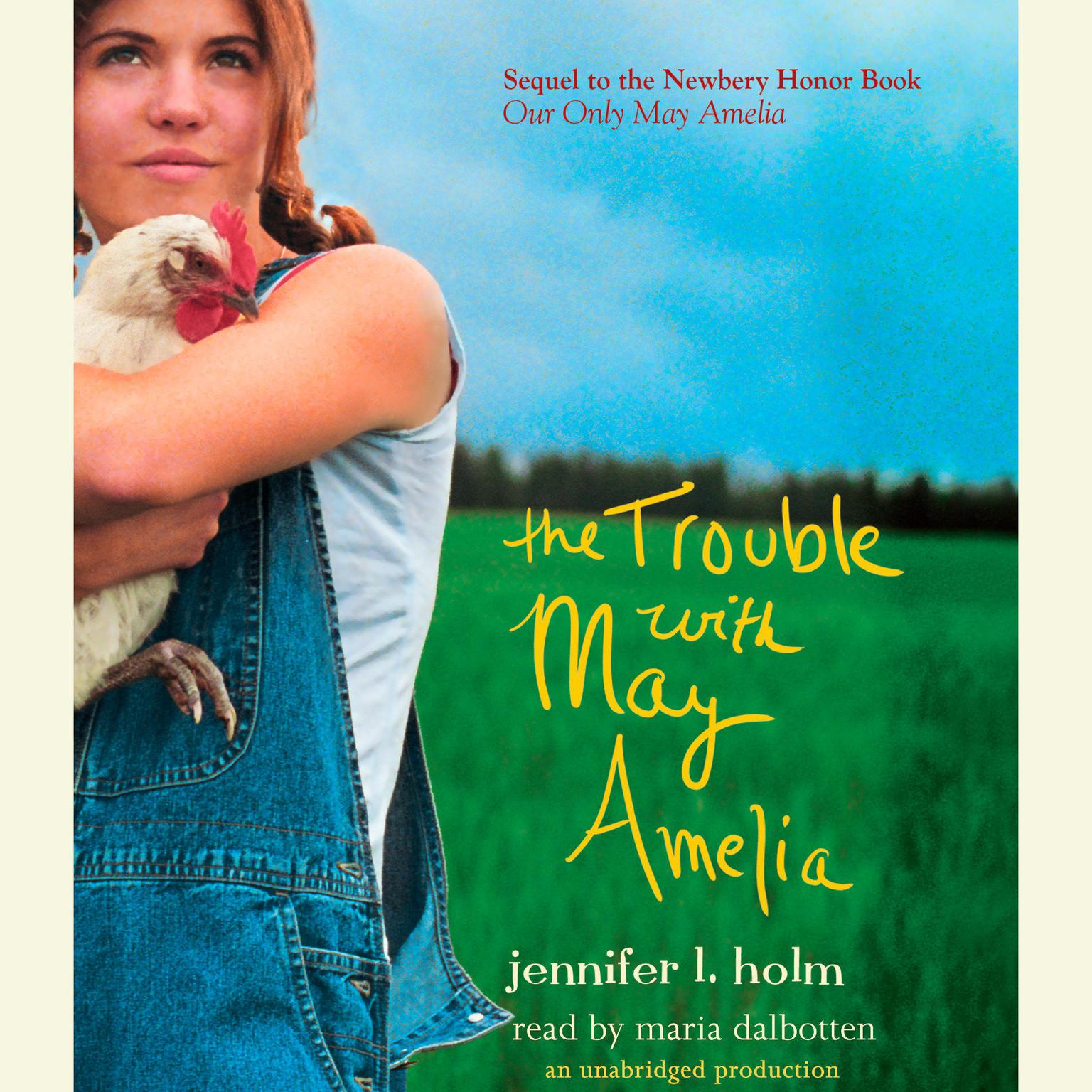 Printable The Trouble with May Amelia Audiobook Cover Art