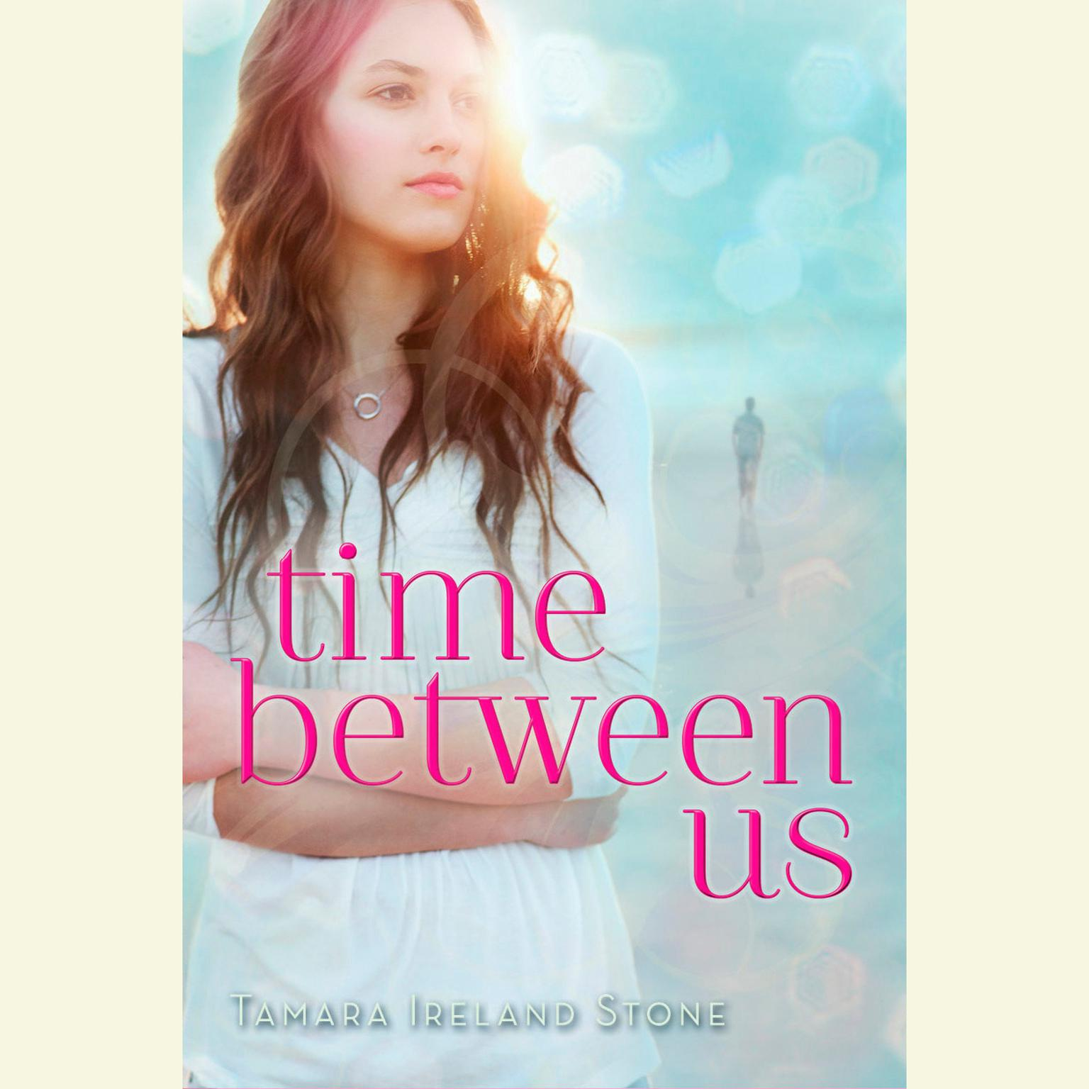 Printable Time Between Us Audiobook Cover Art