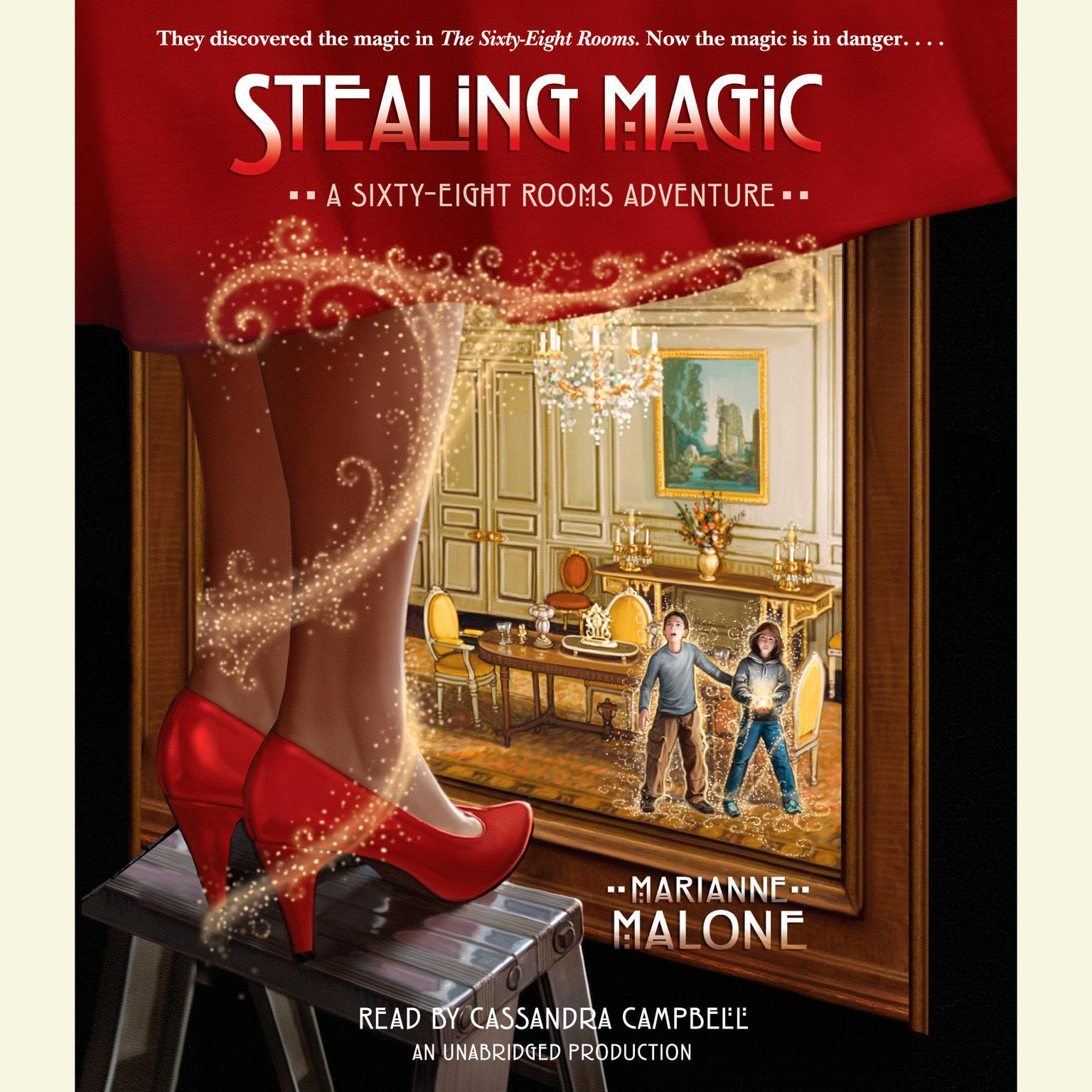 Printable Stealing Magic Audiobook Cover Art