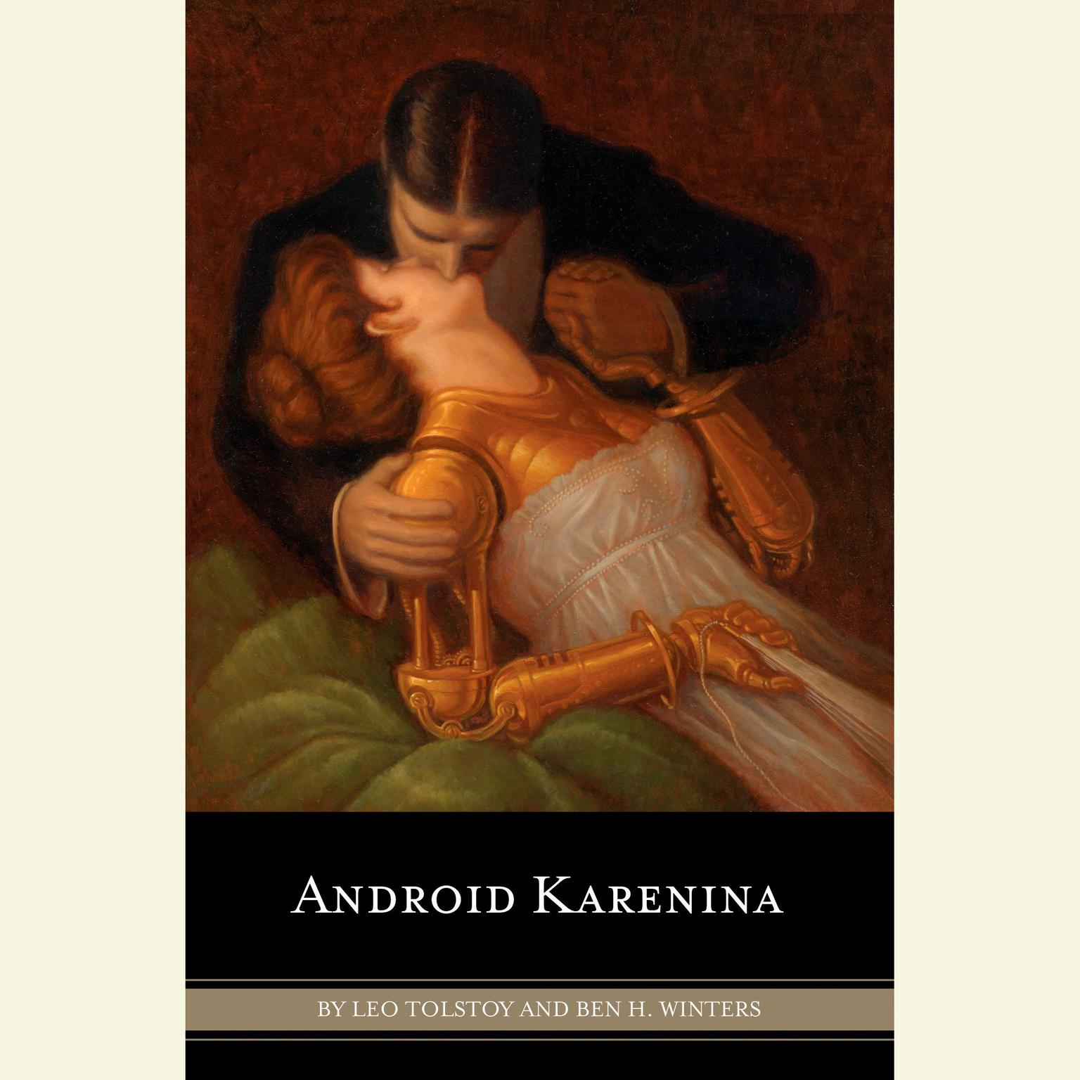 Printable Android Karenina Audiobook Cover Art