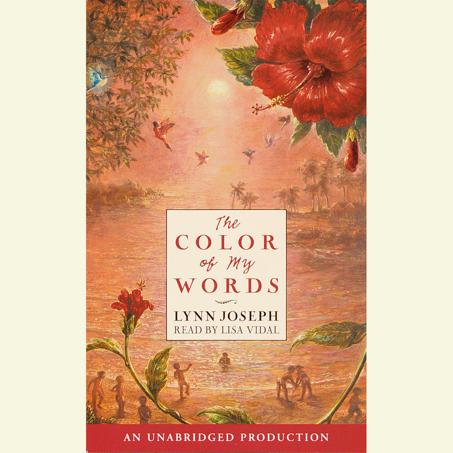 Printable The Color of My Words Audiobook Cover Art