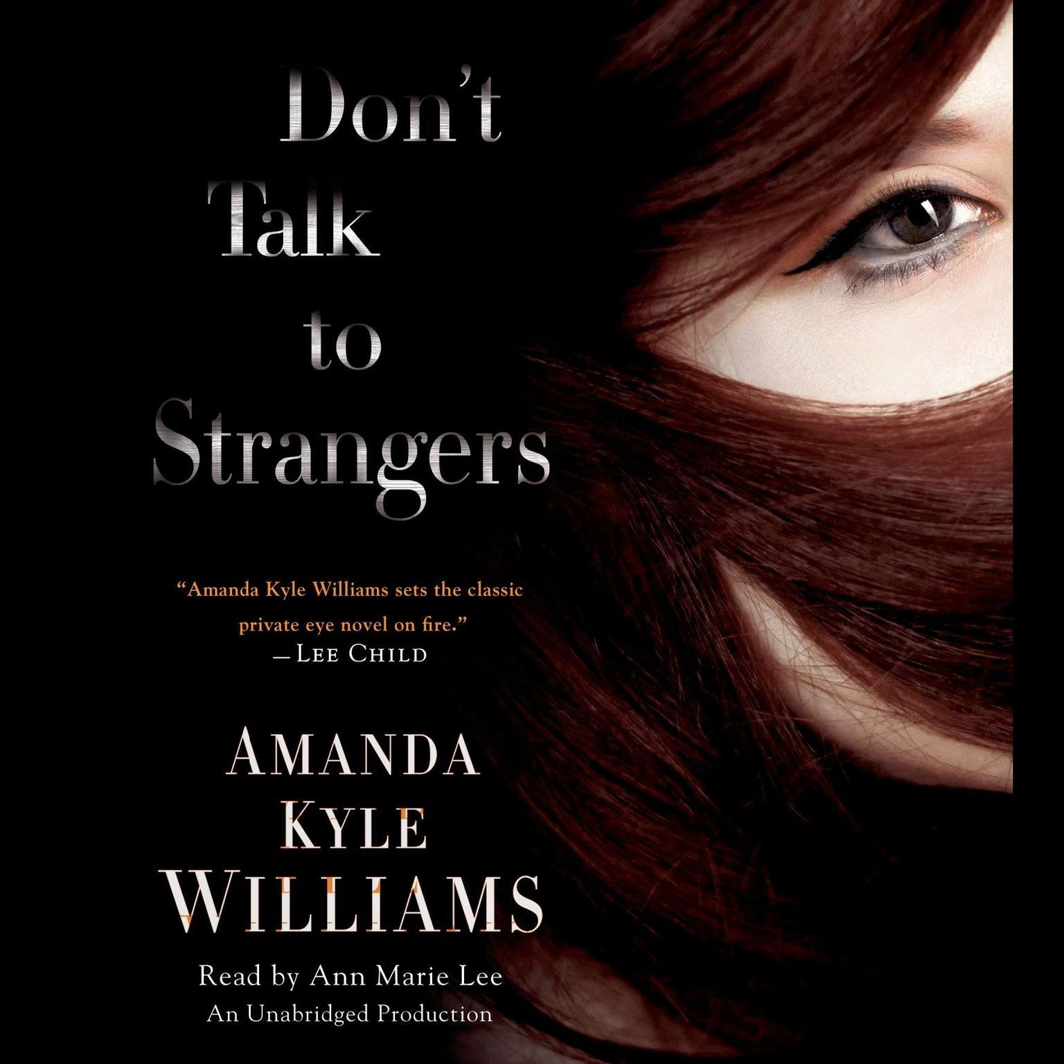 Printable Don't Talk to Strangers: A Novel Audiobook Cover Art