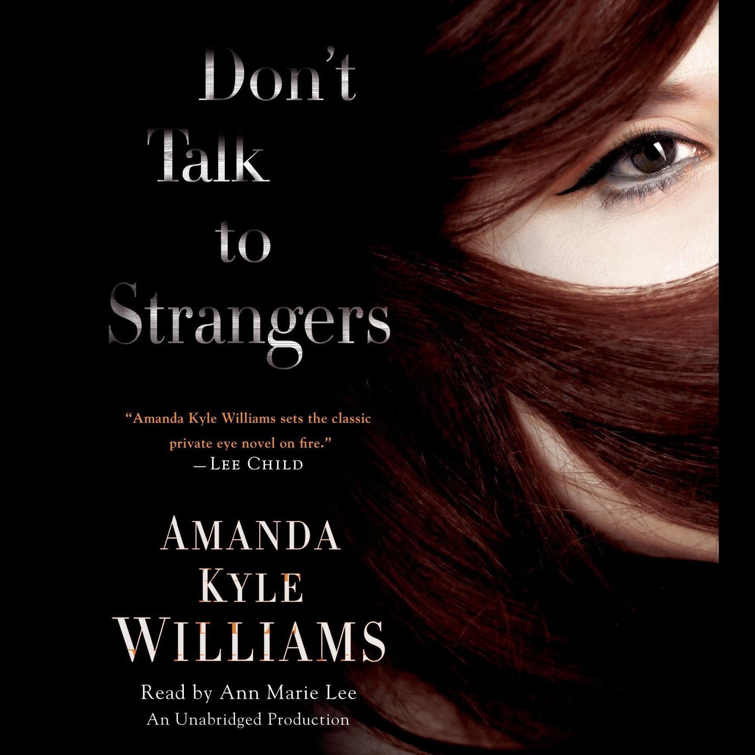 Printable Don't Talk to Strangers: A Novel Audiobook Cover Art
