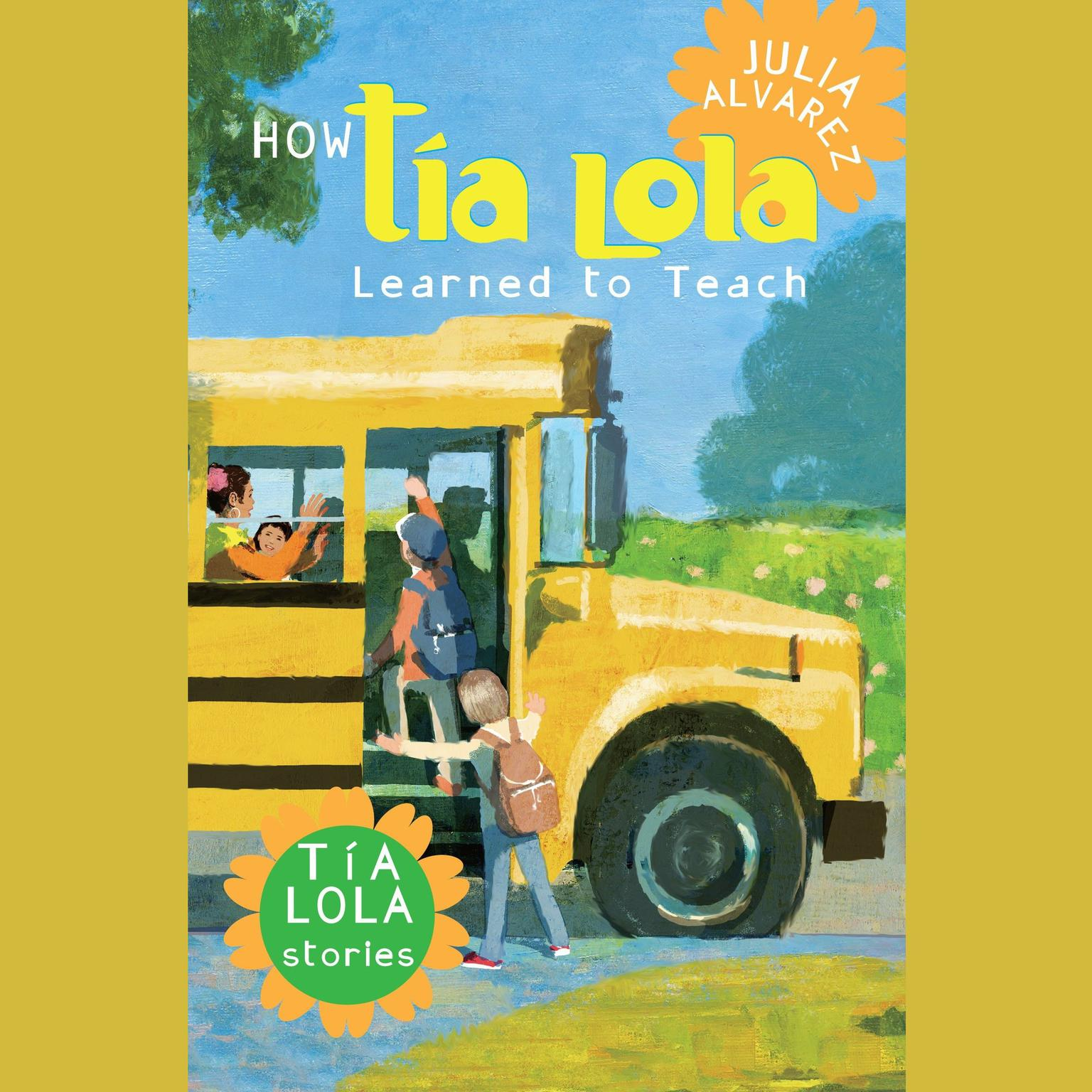 Printable How Tia Lola Learned to Teach Audiobook Cover Art