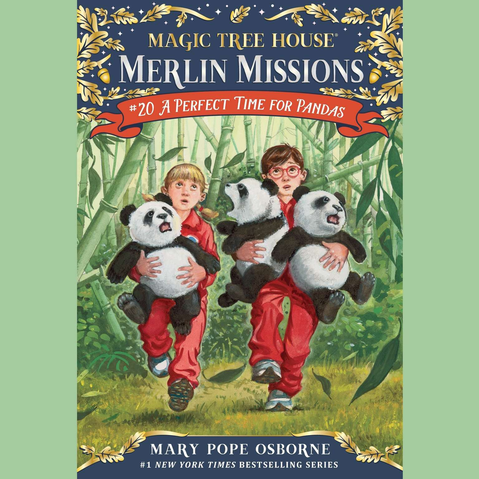 A Perfect Time for Pandas Audiobook, by Mary Pope Osborne