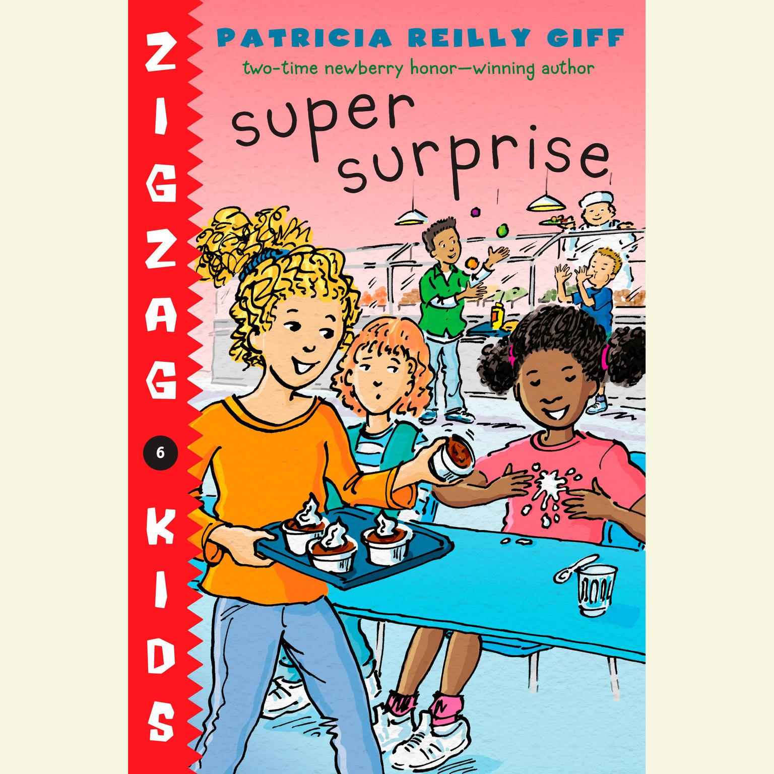 Printable Super Surprise: Zigzag Kids Book 6 Audiobook Cover Art