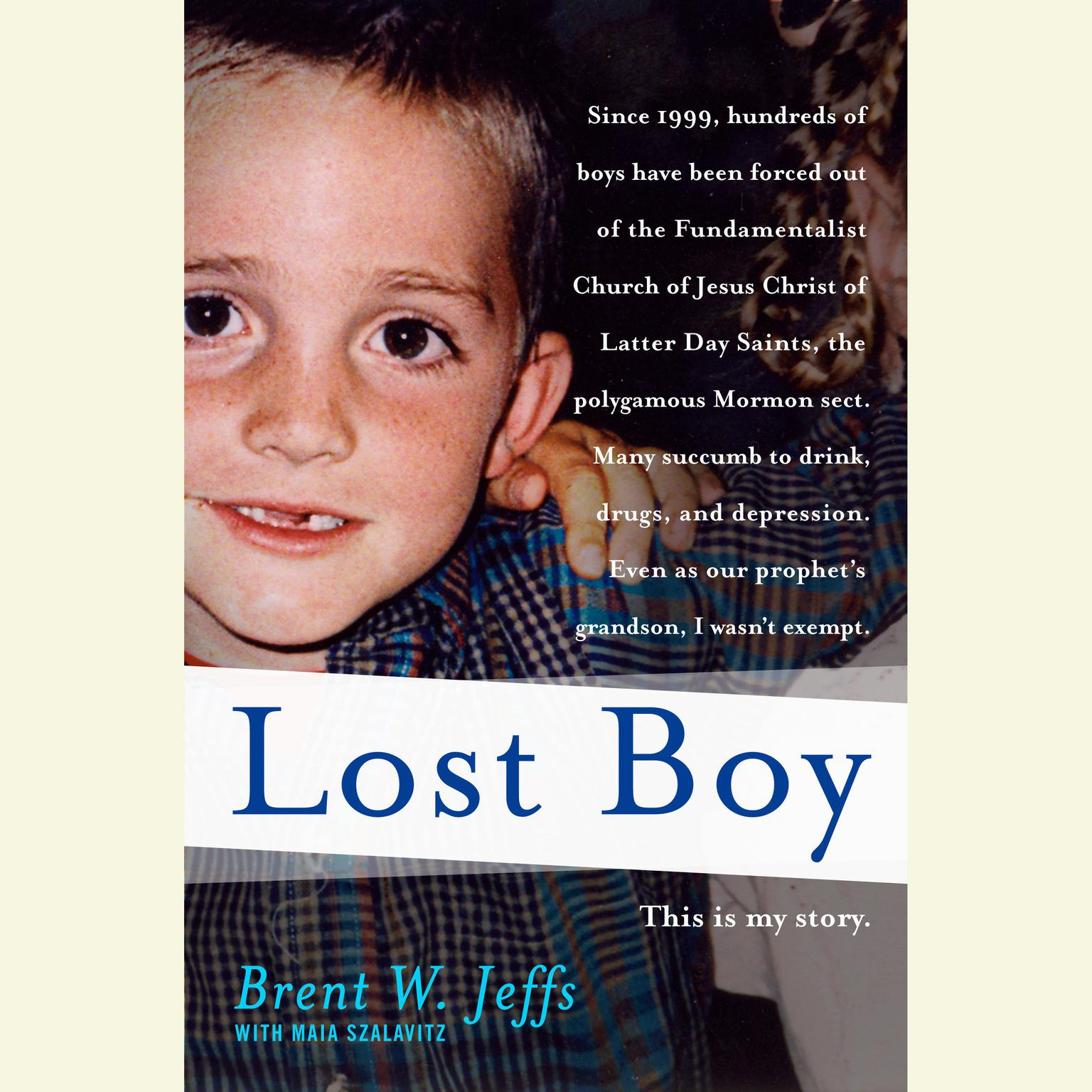 Printable Lost Boy Audiobook Cover Art