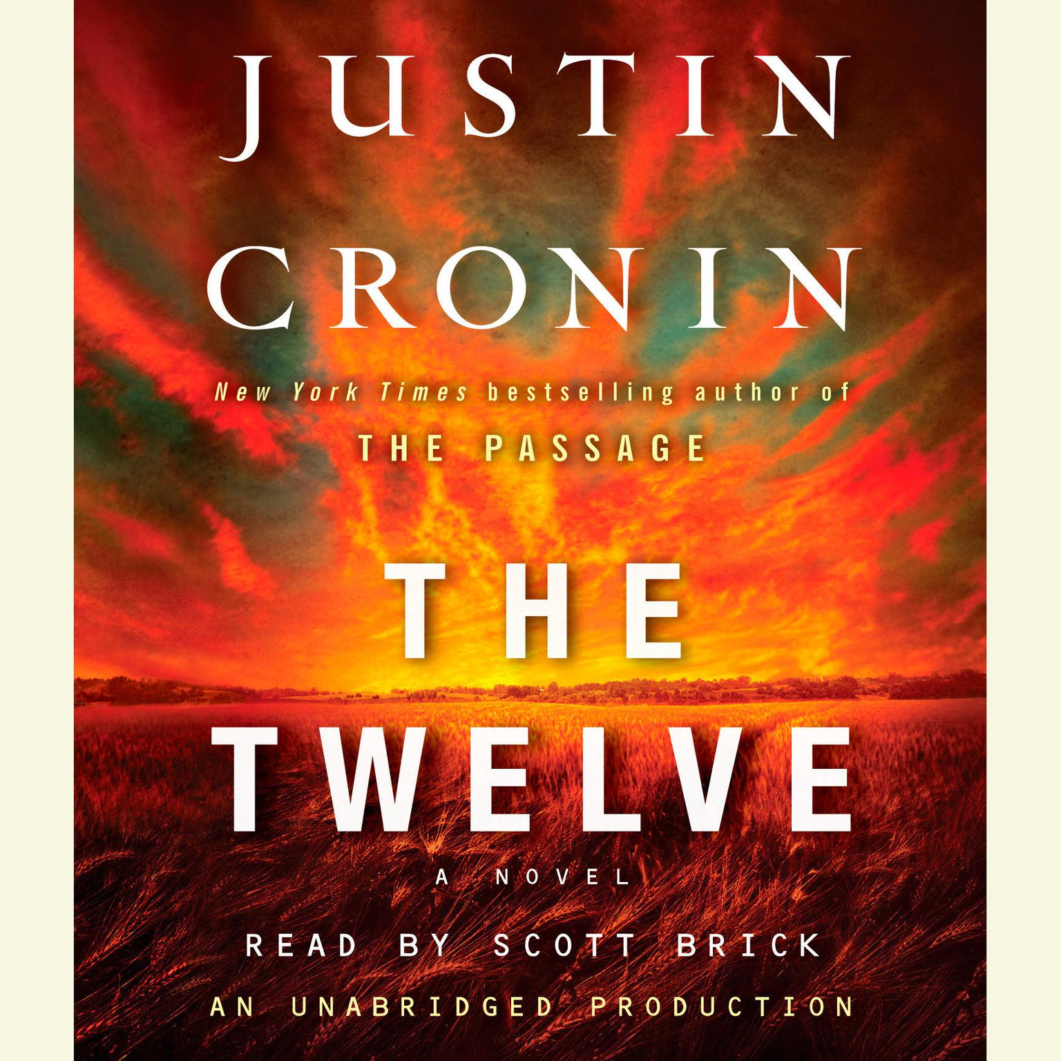 Printable The Twelve (Book Two of The Passage Trilogy): A Novel Audiobook Cover Art