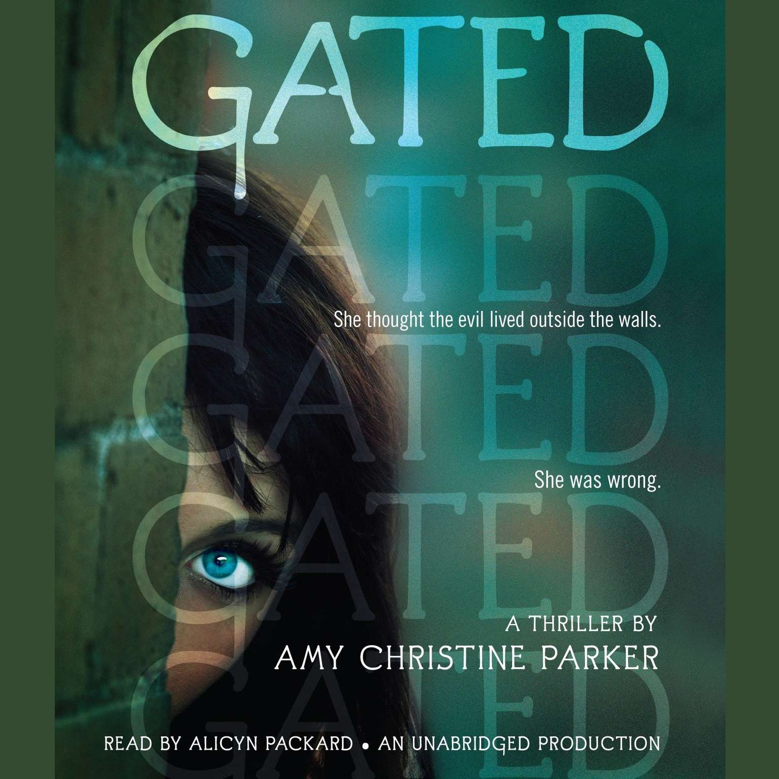 Printable Gated Audiobook Cover Art