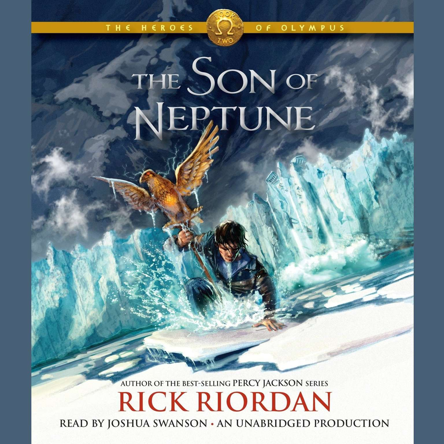 Printable The Heroes of Olympus, Book Two: The Son of Neptune Audiobook Cover Art