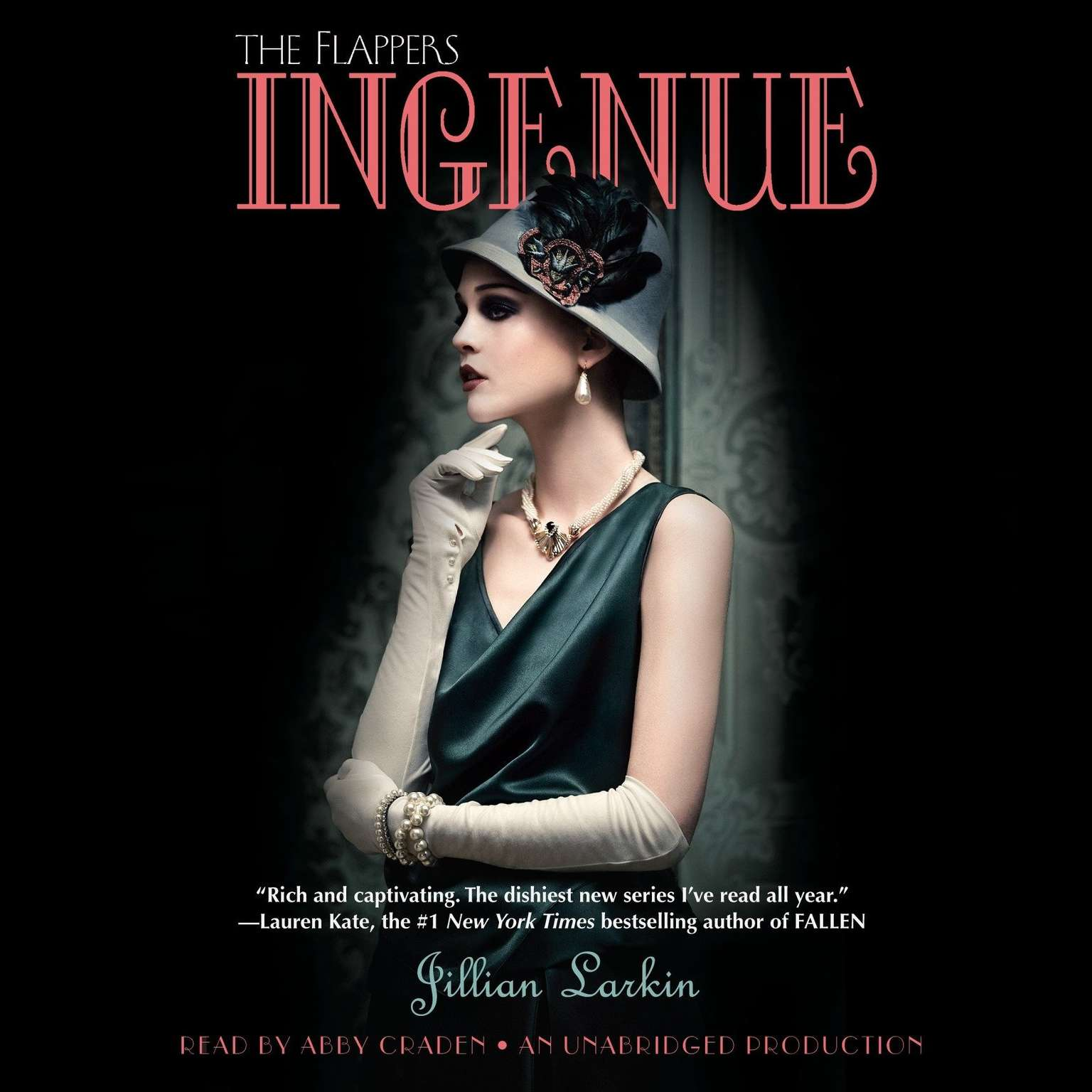 Printable Ingenue Audiobook Cover Art