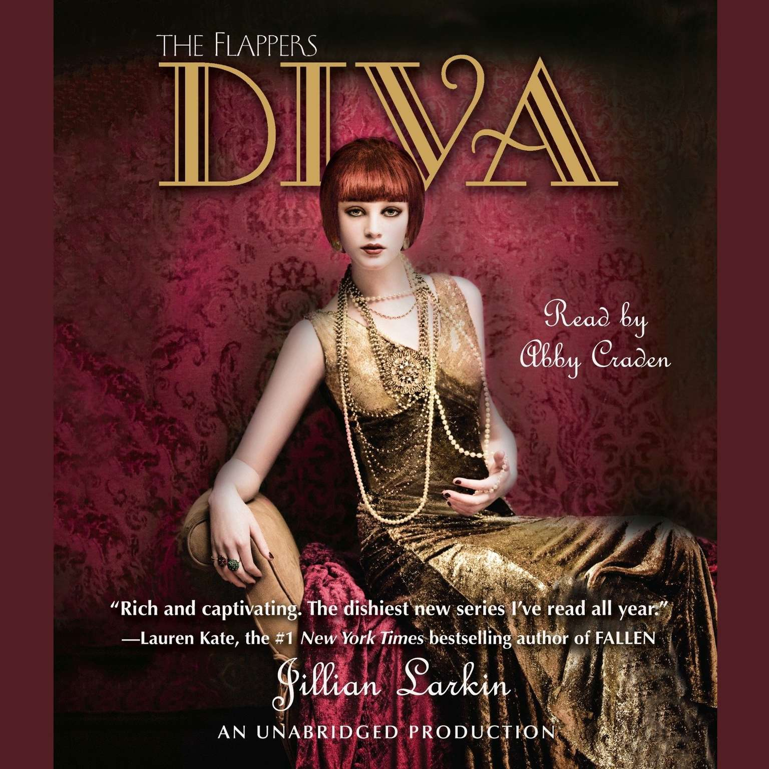 Printable Diva Audiobook Cover Art