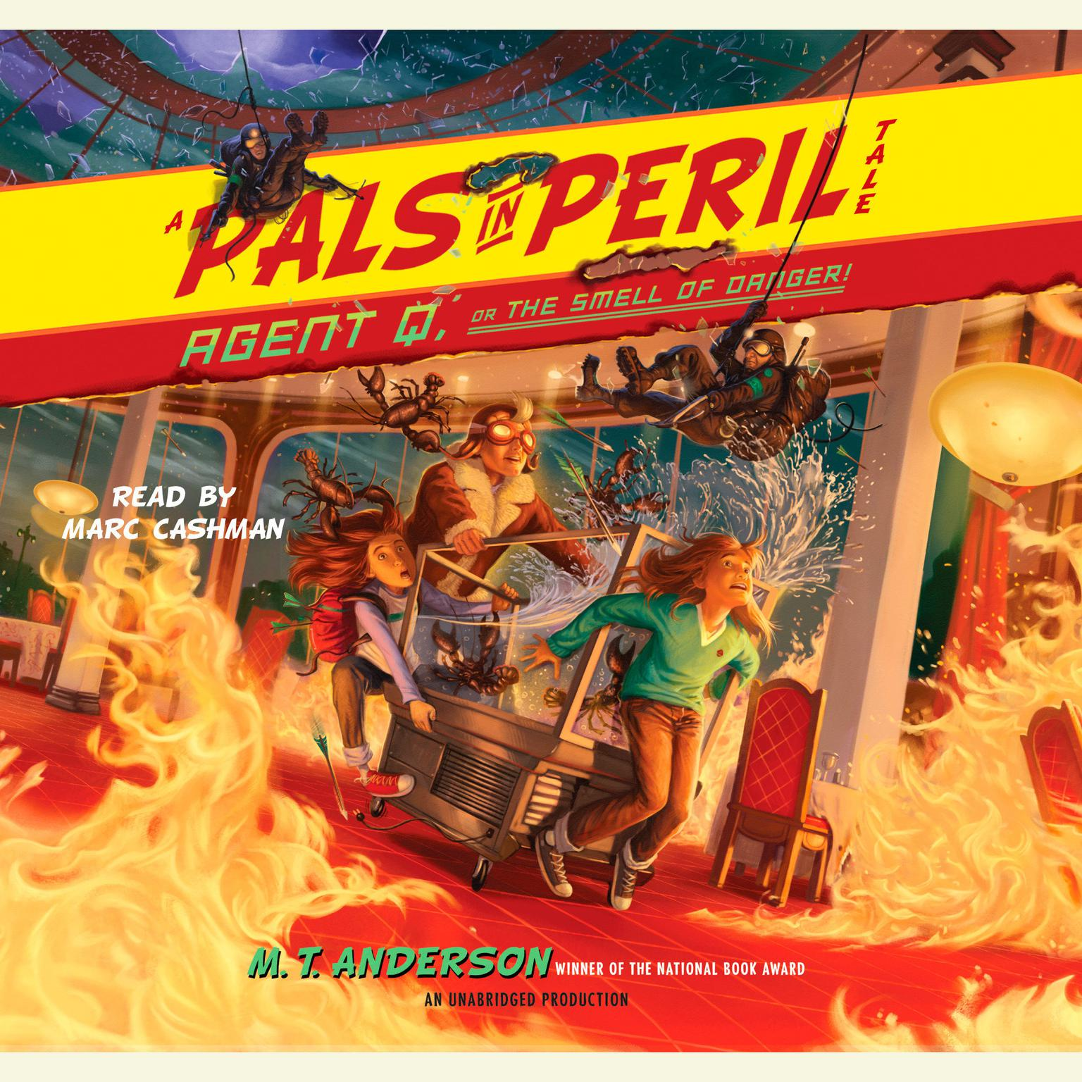 Printable Agent Q, or the Smell of Danger!: A Pals in Peril Tale Audiobook Cover Art