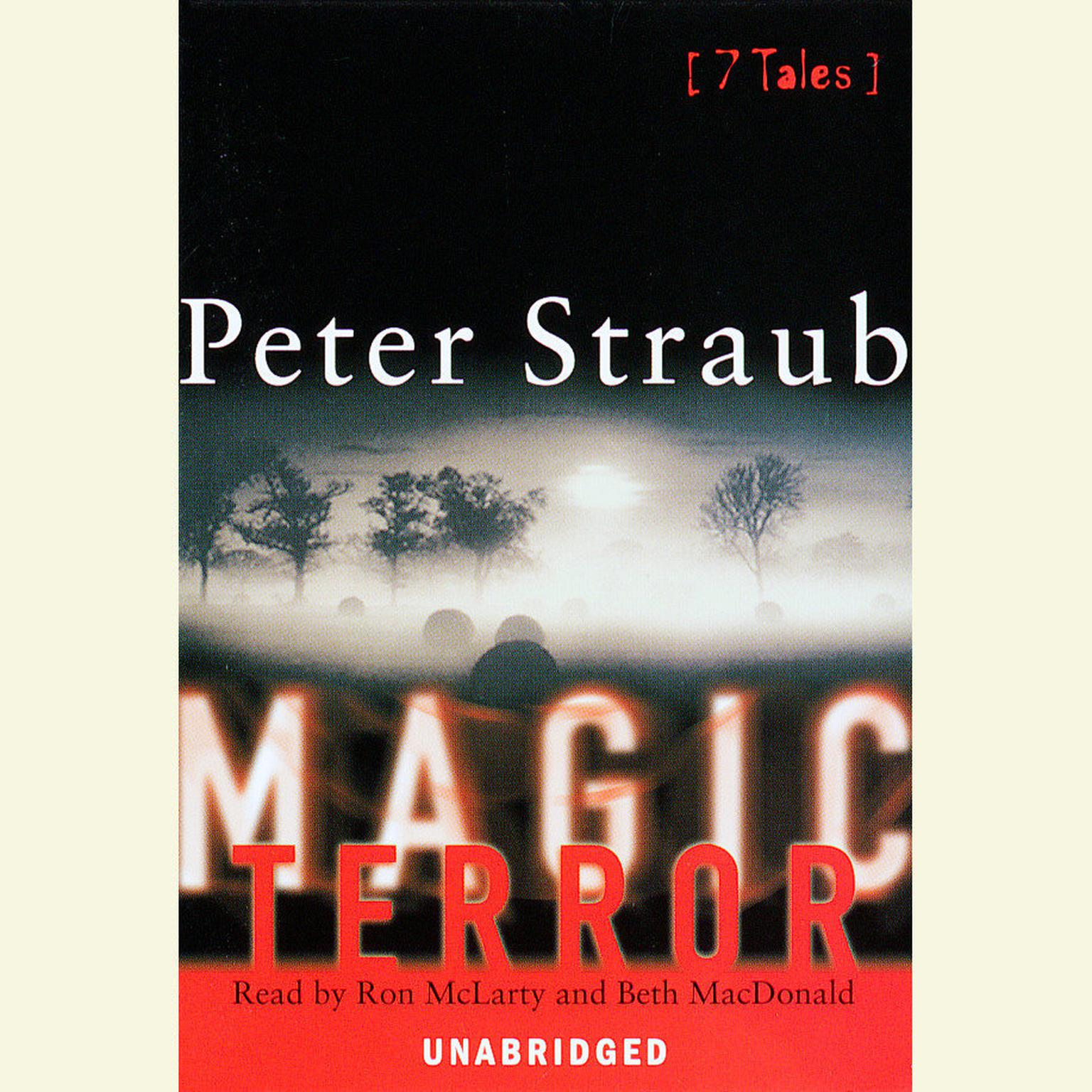 Printable Magic Terror: Seven Tales Audiobook Cover Art