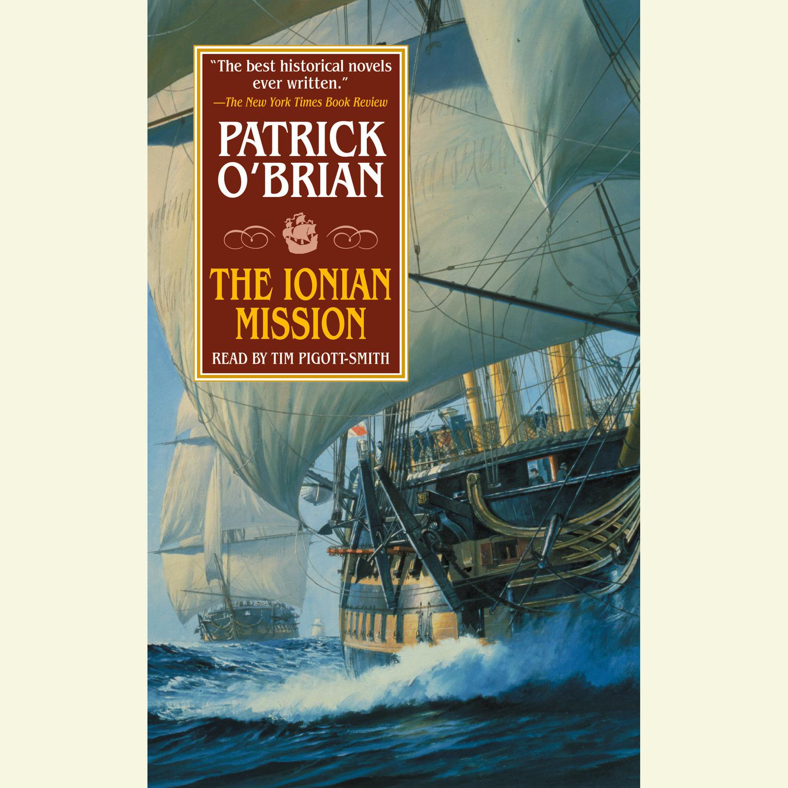 Printable The Ionian Mission Audiobook Cover Art