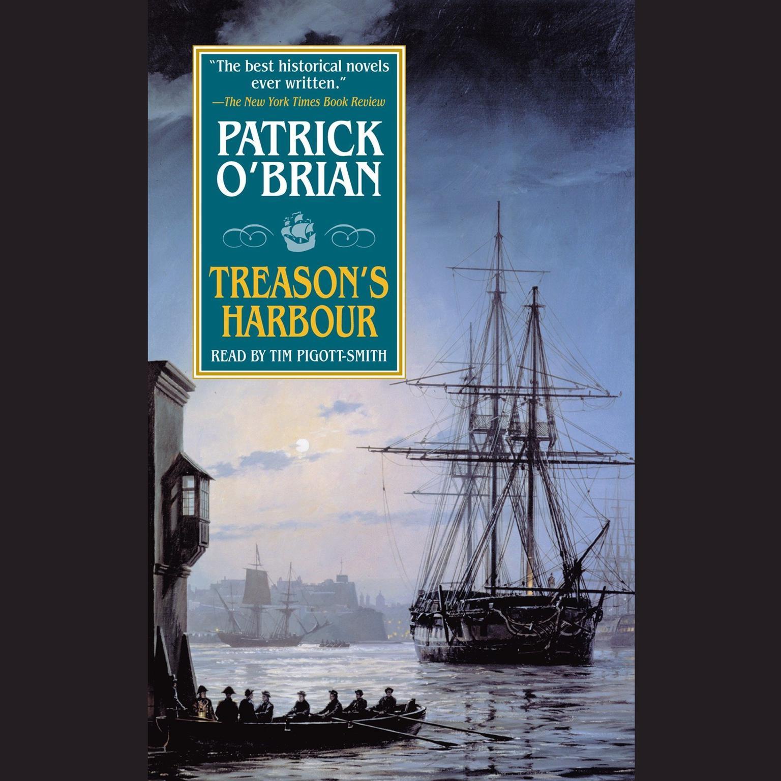 Printable Treason's Harbour Audiobook Cover Art