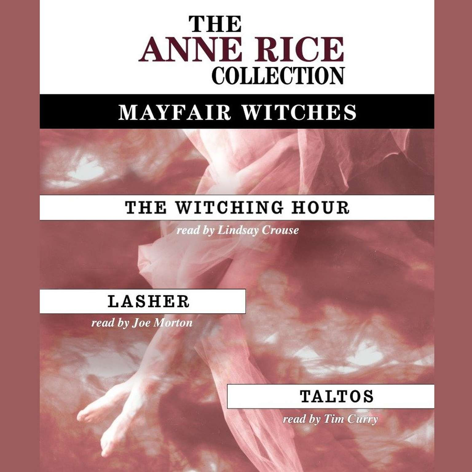Printable Anne Rice Value Collection: Lasher, The Witching Hour, Taltos Audiobook Cover Art