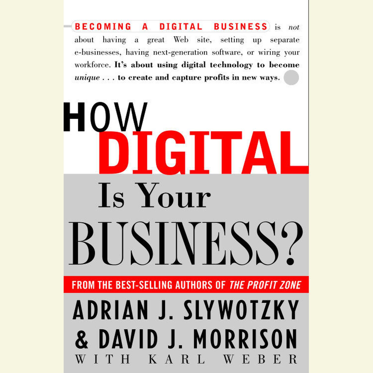 Printable How Digital is Your Business? Audiobook Cover Art