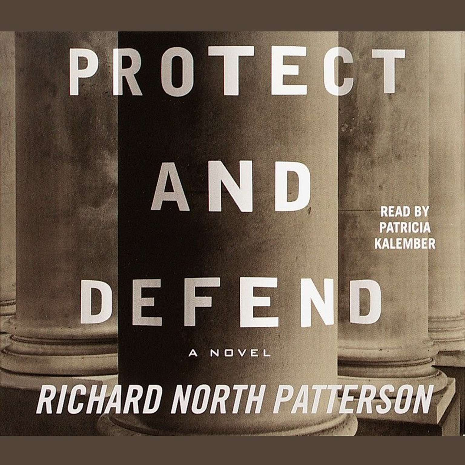 Printable Protect and Defend Audiobook Cover Art