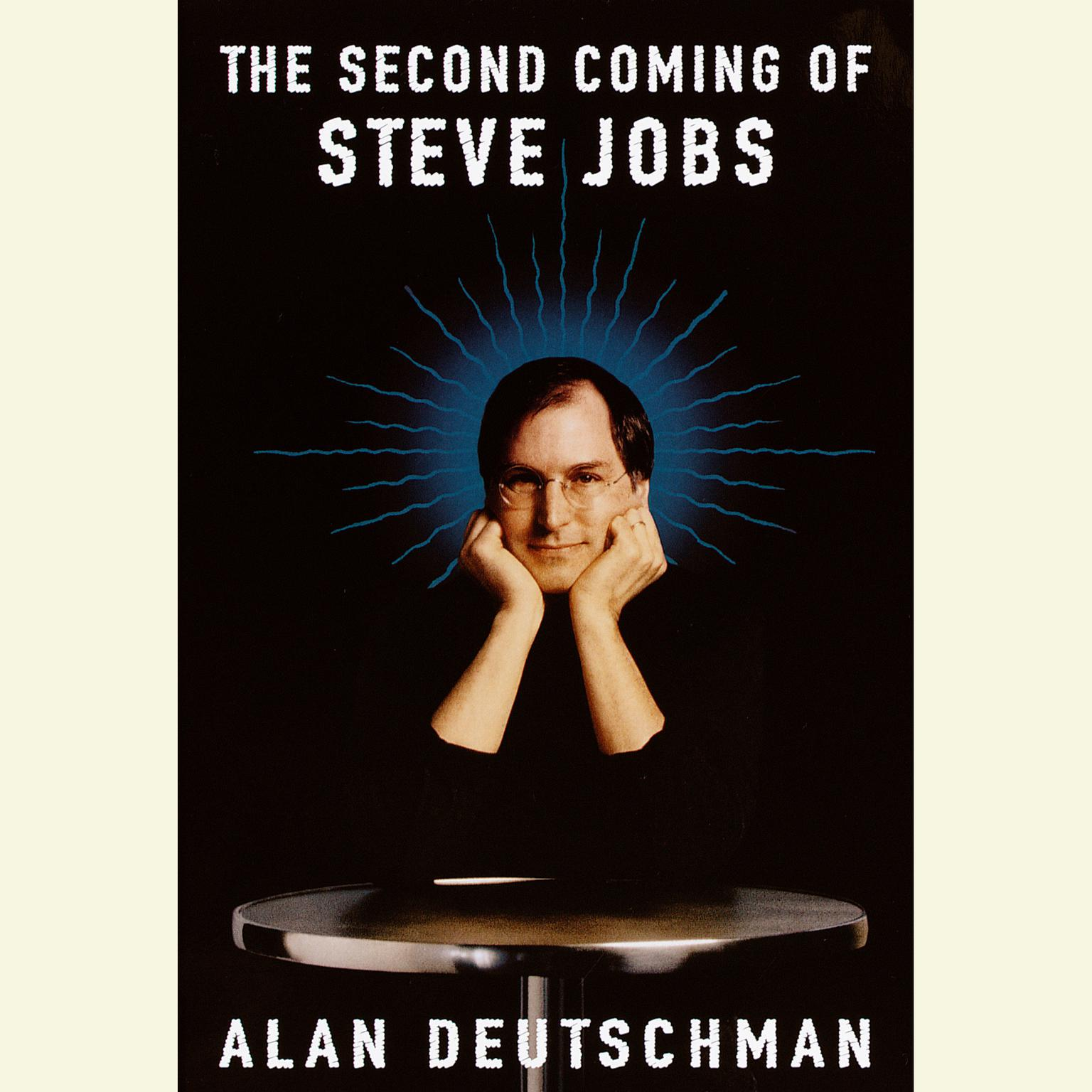Printable The Second Coming of Steve Jobs Audiobook Cover Art