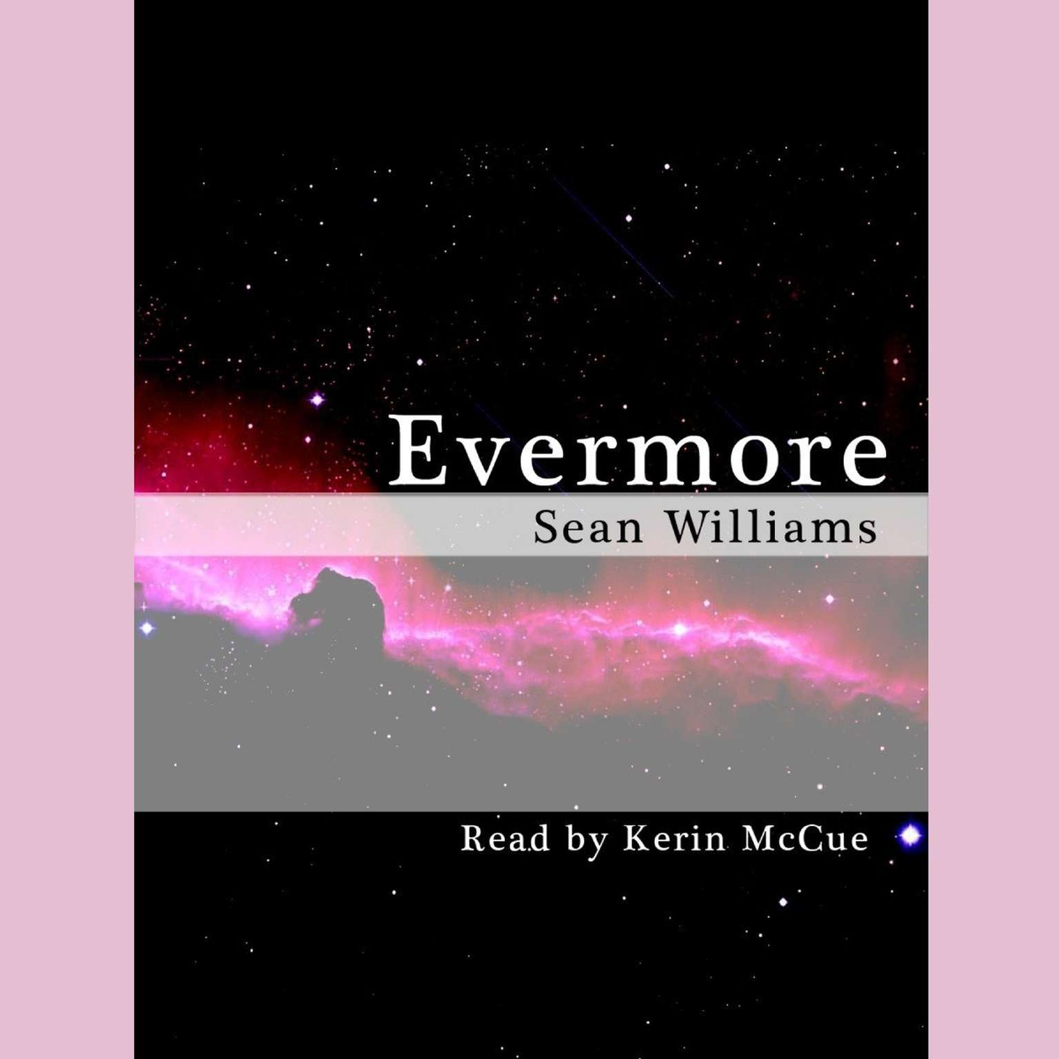 Printable Evermore Audiobook Cover Art