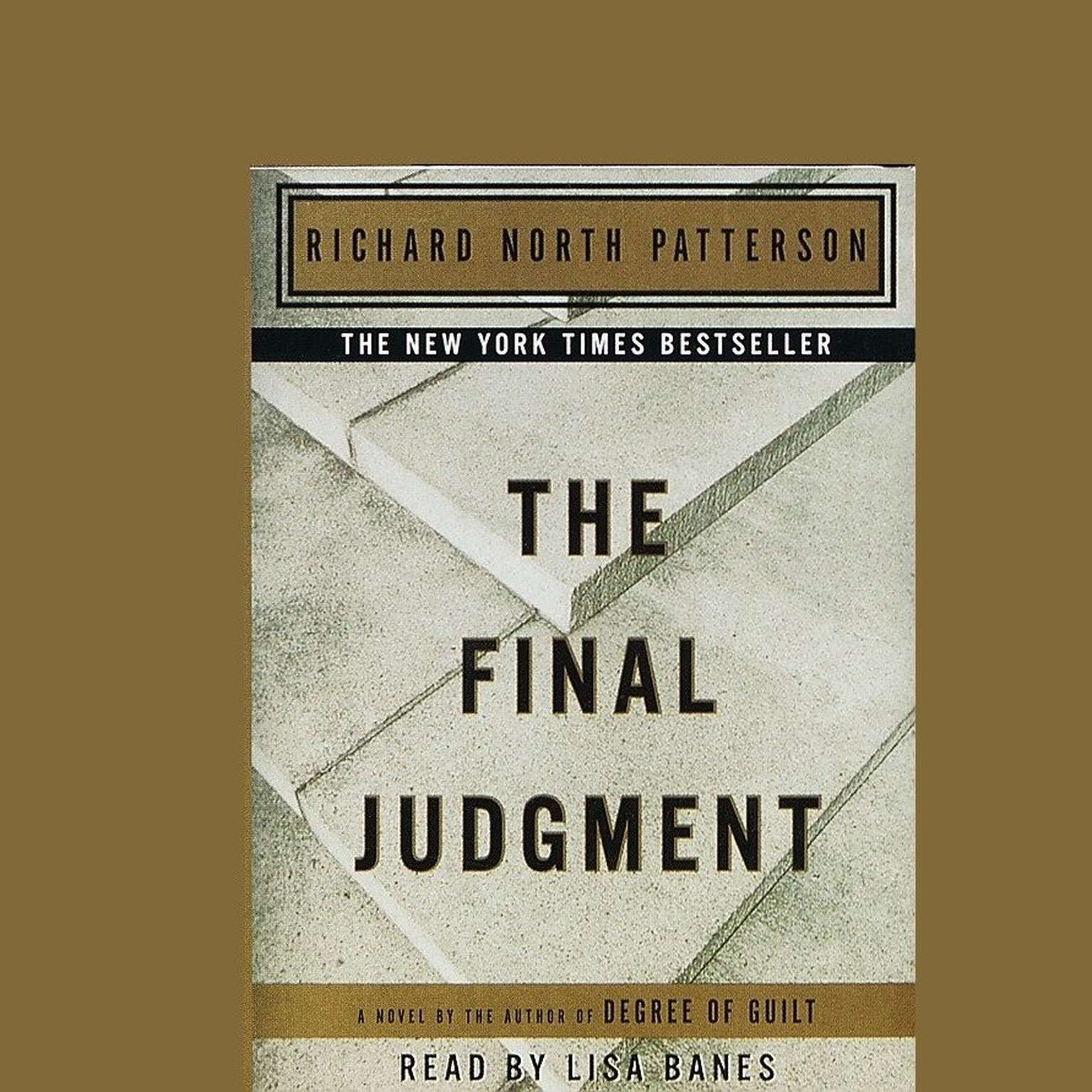 Printable Final Judgment Audiobook Cover Art