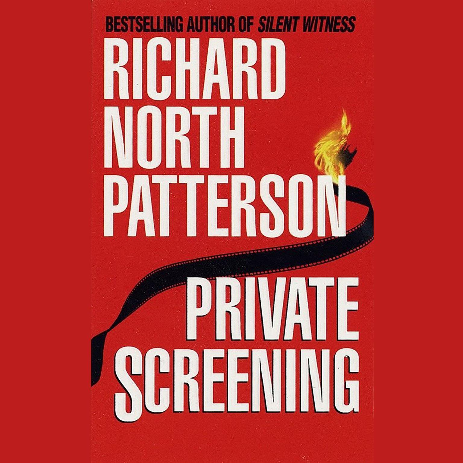 Printable Private Screening Audiobook Cover Art