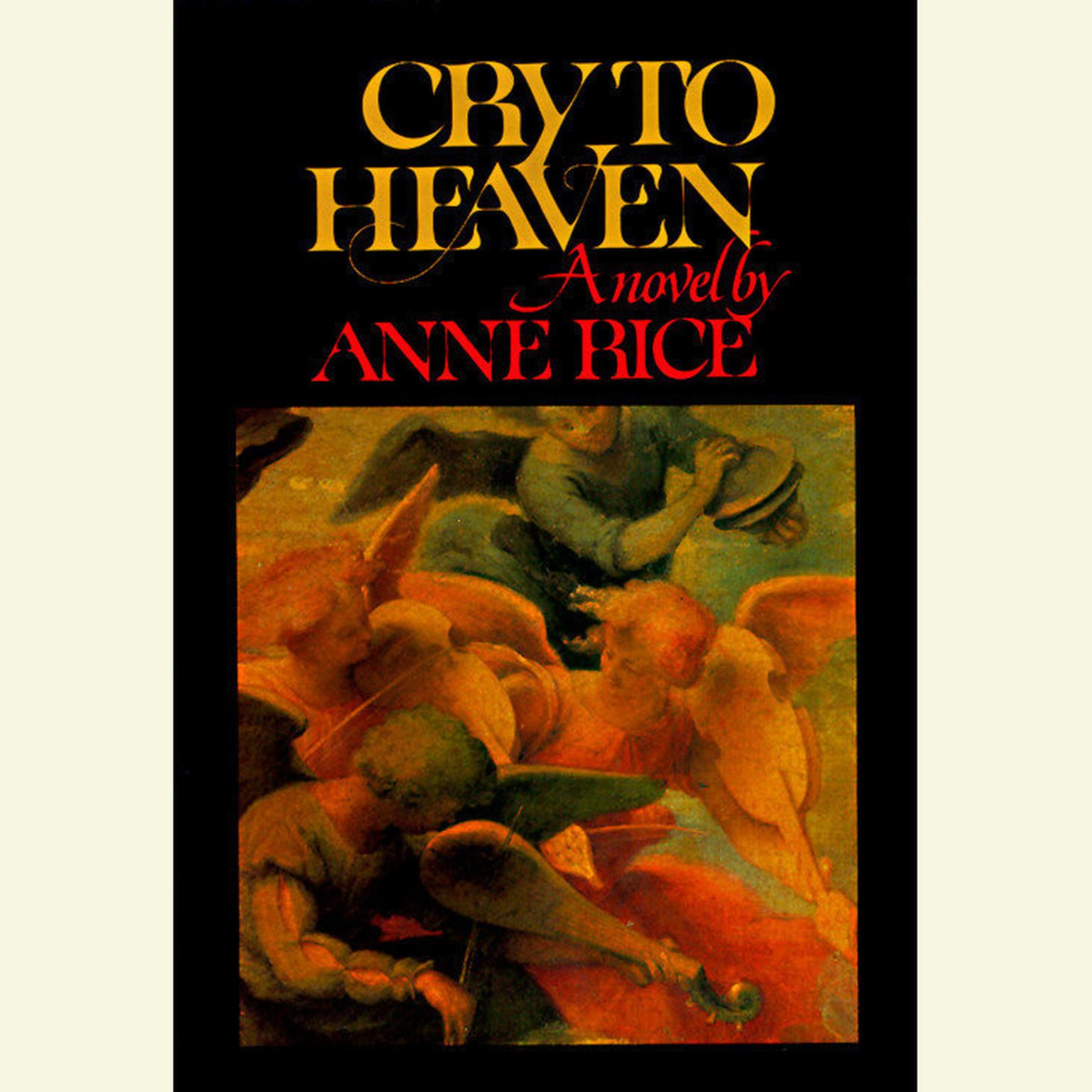 Printable Cry to Heaven Audiobook Cover Art