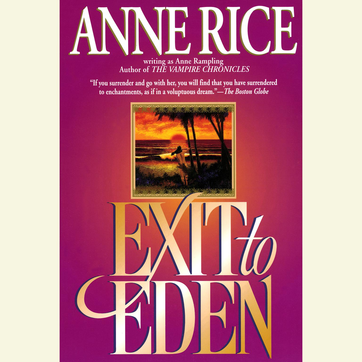 Printable Exit to Eden Audiobook Cover Art