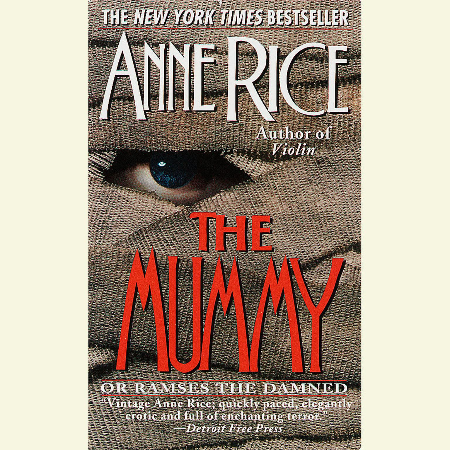 Printable The Mummy or Ramses the Damned Audiobook Cover Art