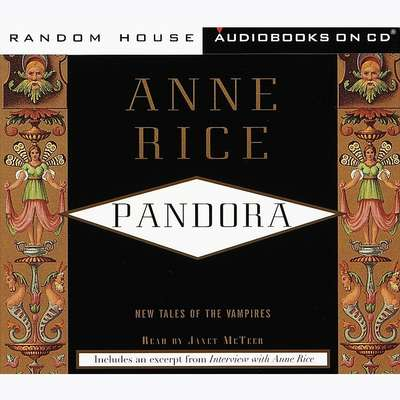 Pandora Audiobook, by Anne Rice