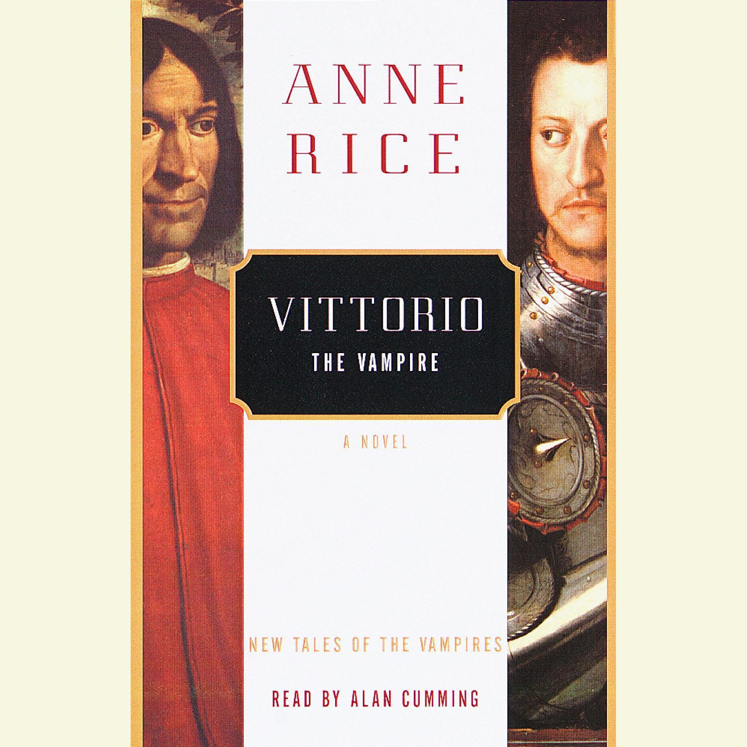 Printable Vittorio the Vampire Audiobook Cover Art