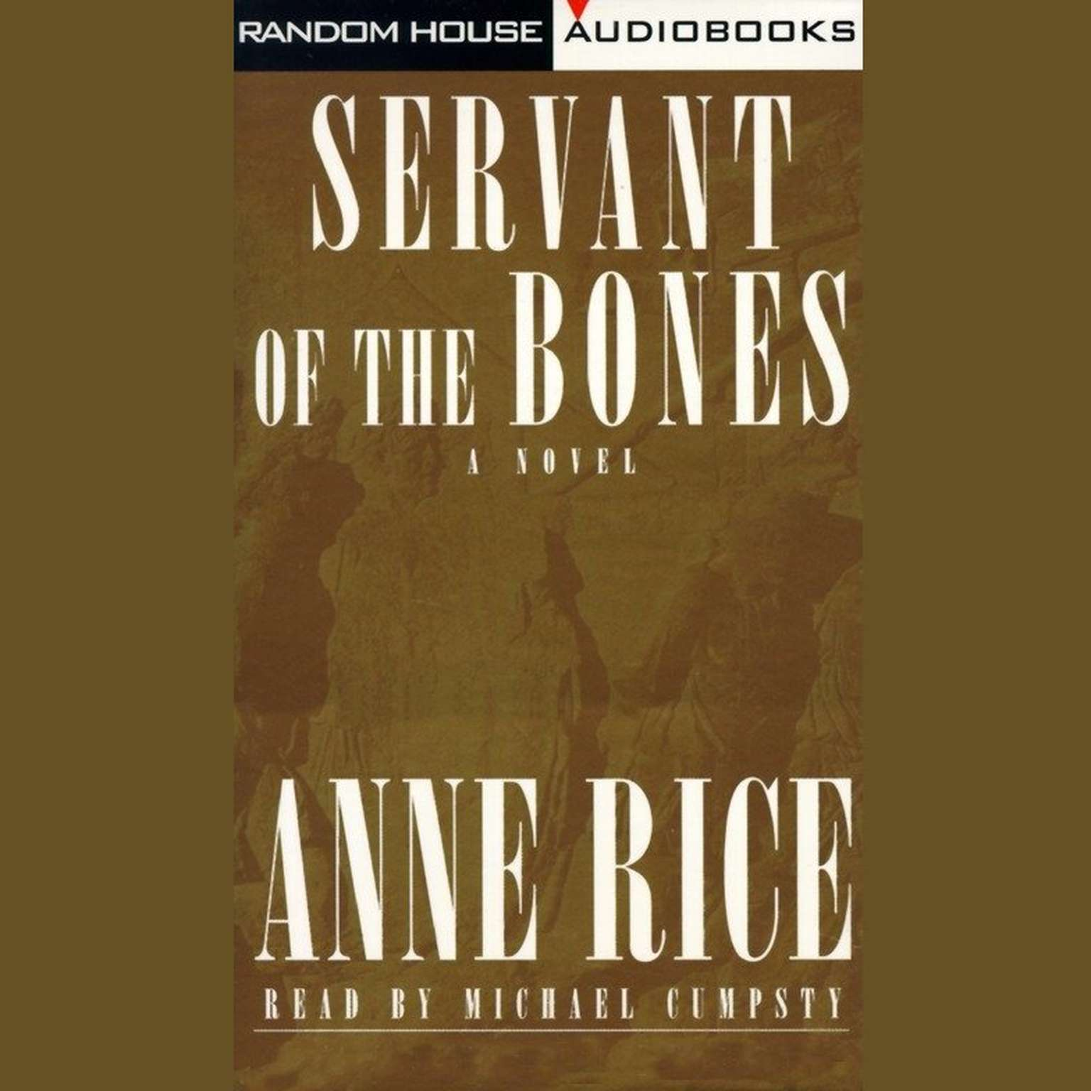 Printable Servant of the Bones Audiobook Cover Art