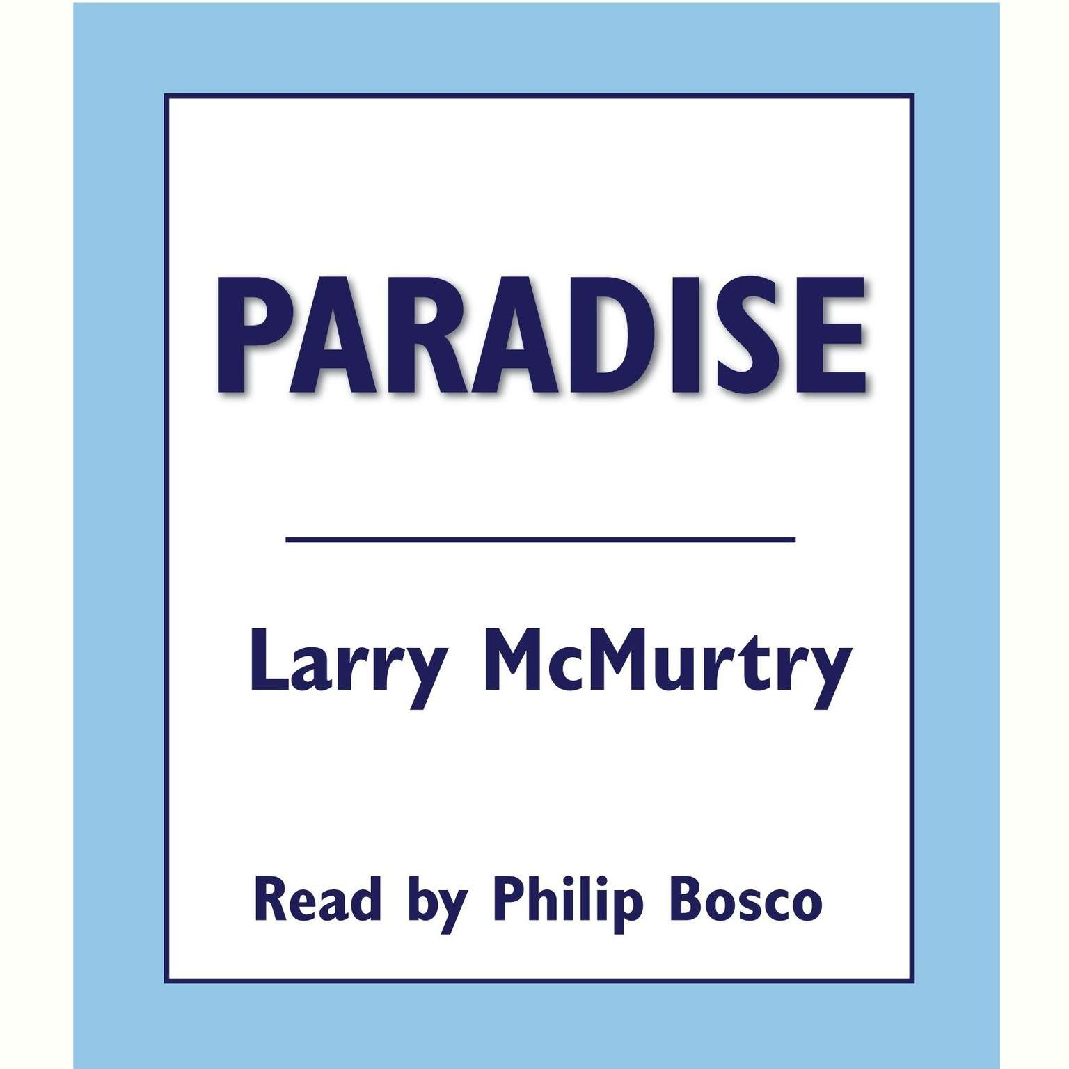 Printable Paradise Audiobook Cover Art