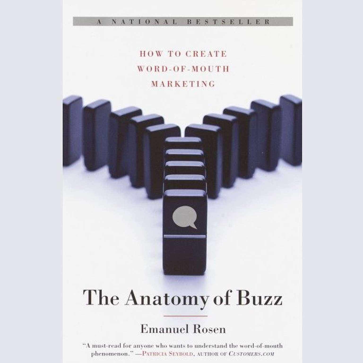 Printable The Anatomy of Buzz: How to Create Word of Mouth Marketing Audiobook Cover Art