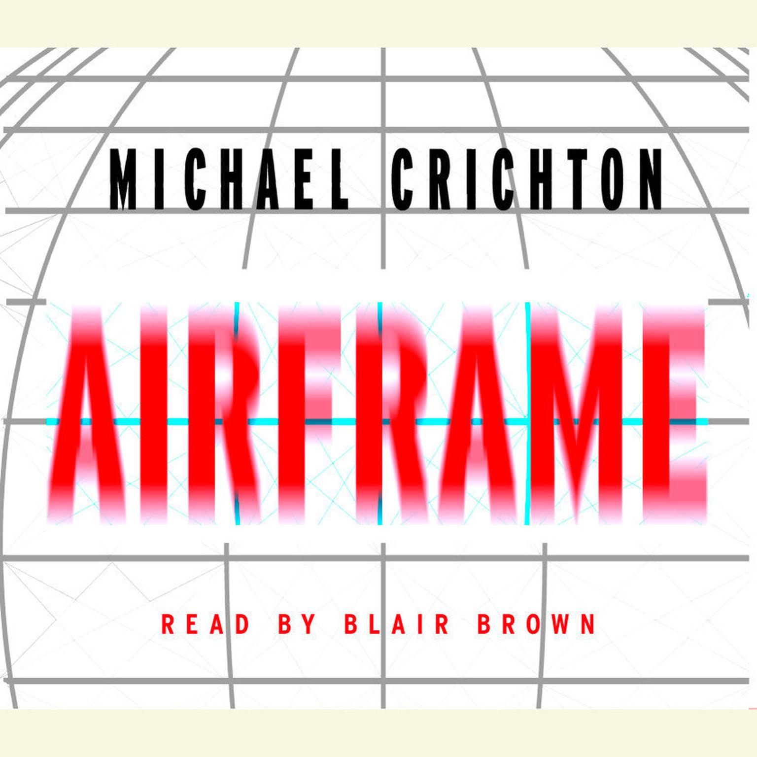 Printable Airframe Audiobook Cover Art