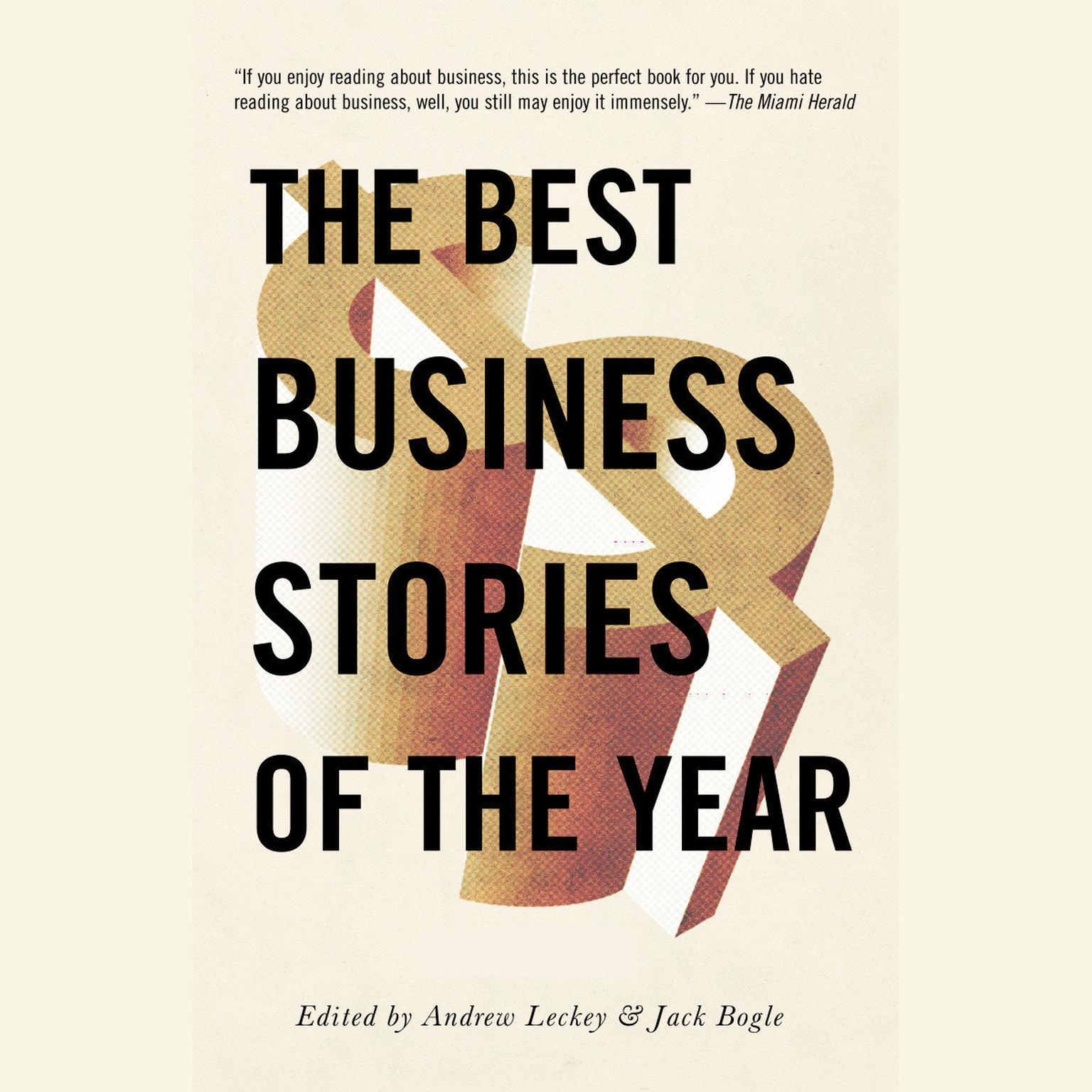 Printable The Best Business Stories of the Year 2001 Audiobook Cover Art
