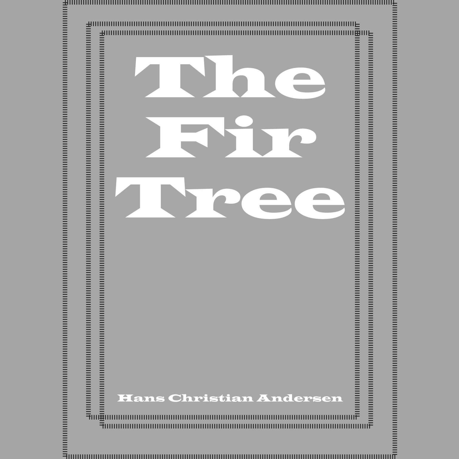 Printable The Fir Tree Audiobook Cover Art
