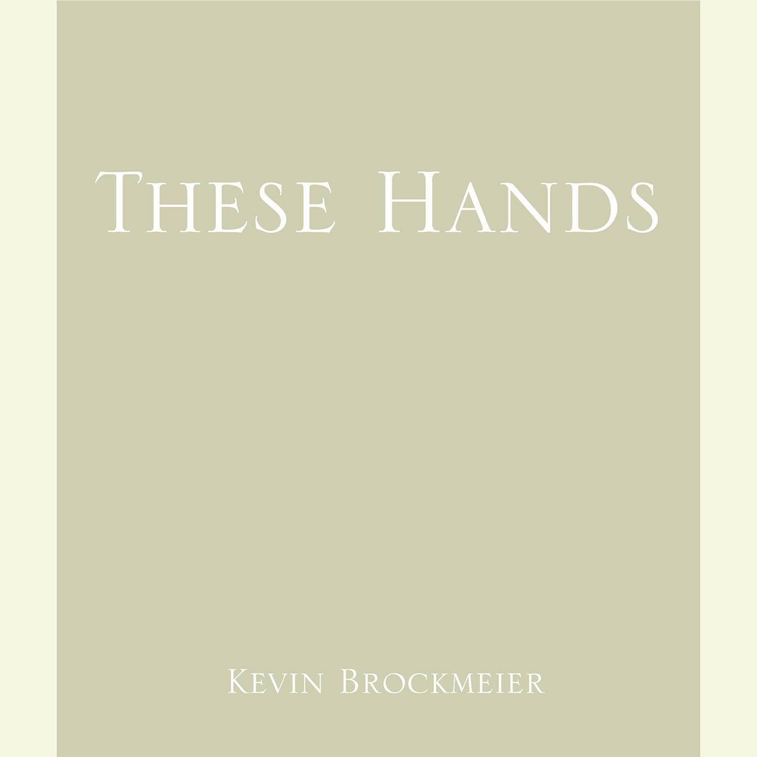 Printable These Hands Audiobook Cover Art
