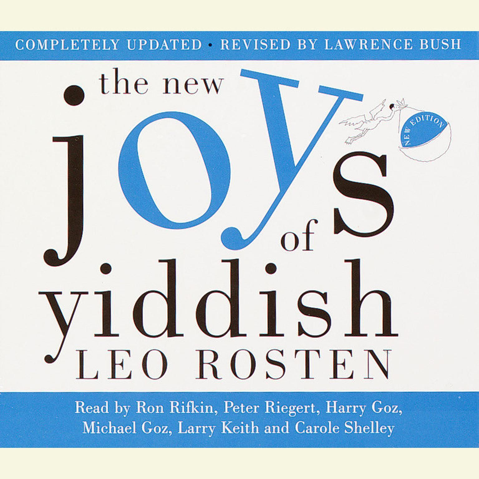 Printable The New Joys of Yiddish: Completely Updated Audiobook Cover Art
