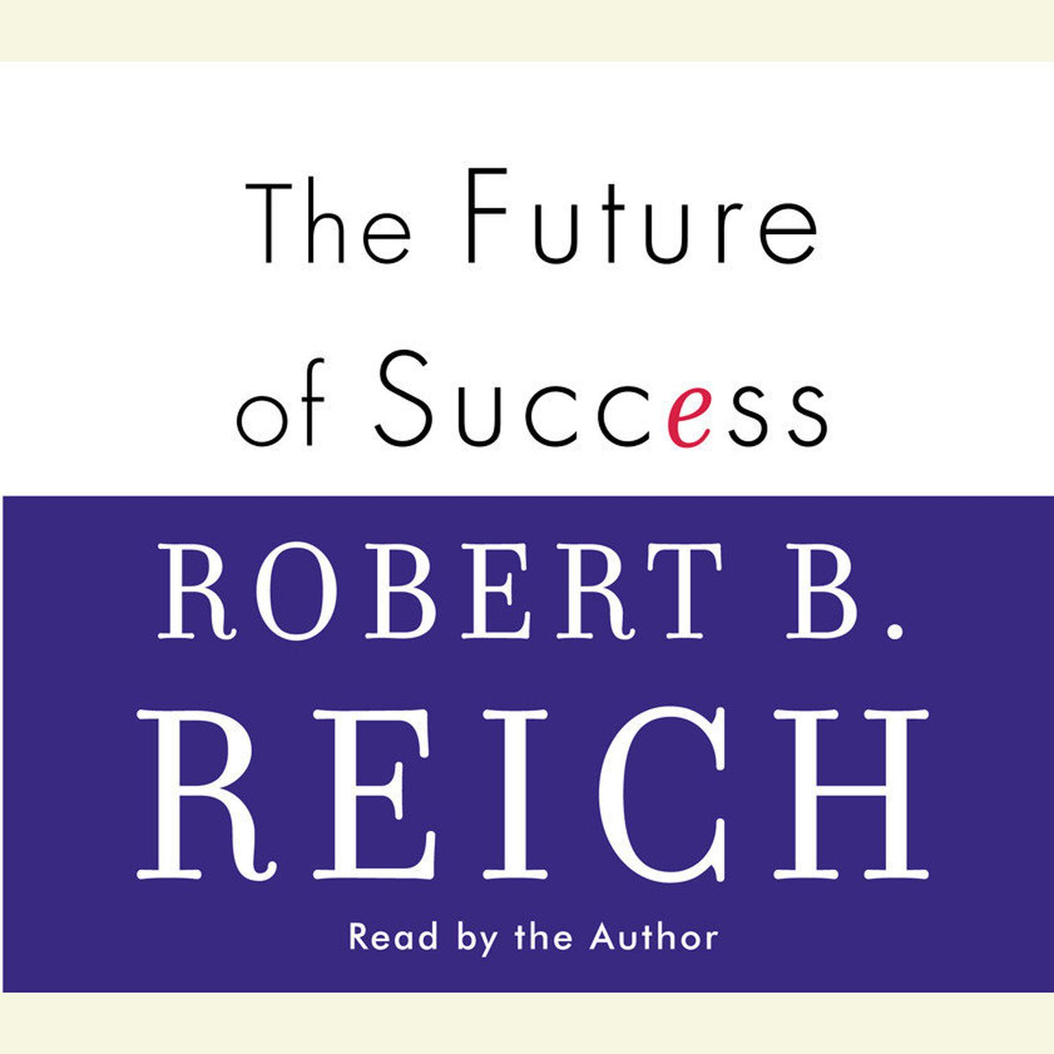Printable The Future of Success Audiobook Cover Art