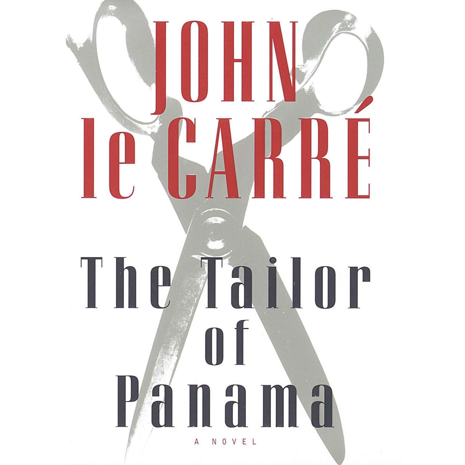 Printable The Tailor of Panama Audiobook Cover Art