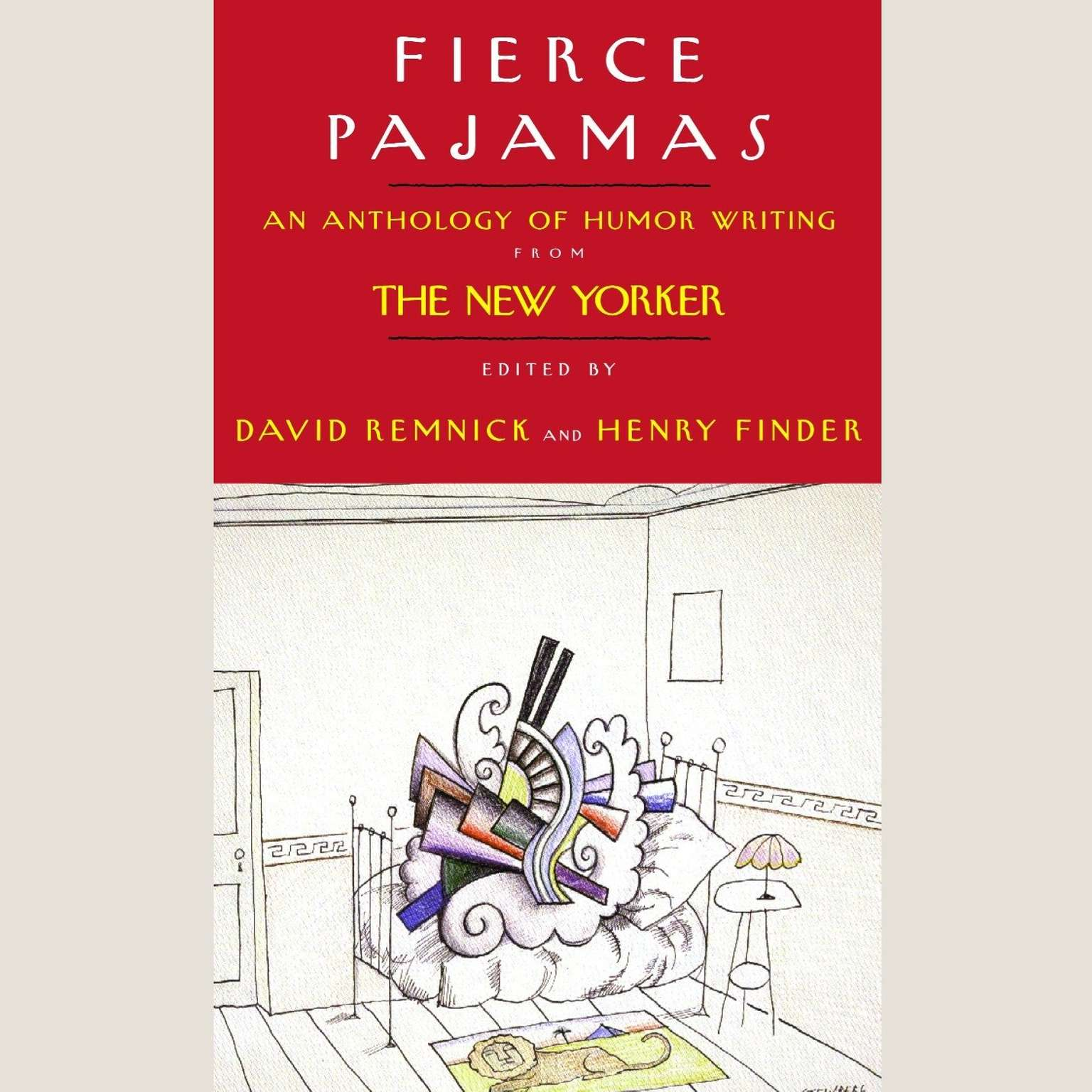 Printable Fierce Pajamas: An Anthology of Humor Writing from the New Yorker Audiobook Cover Art