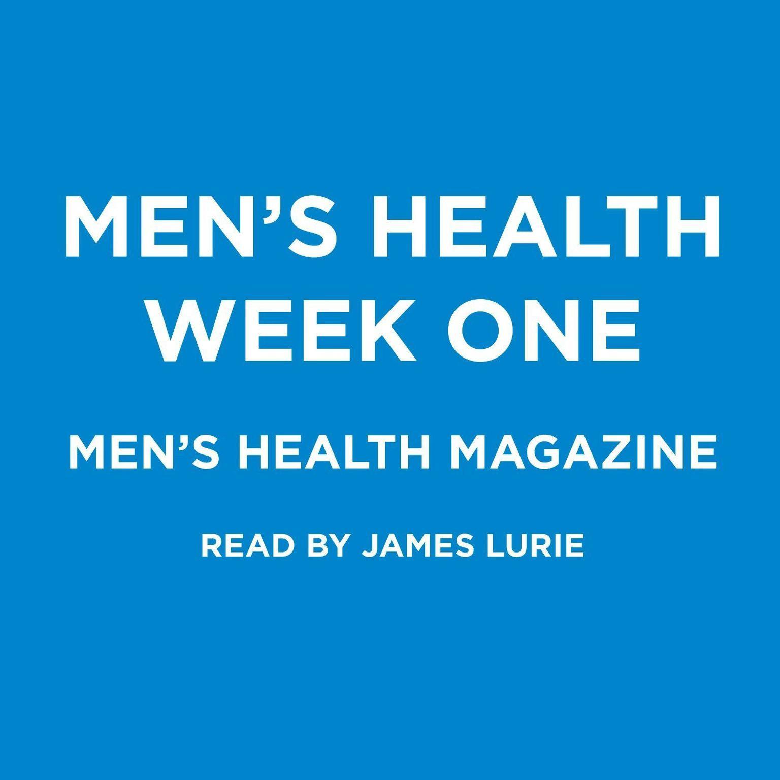 Printable Men's Health Week One (Abridged) Audiobook Cover Art