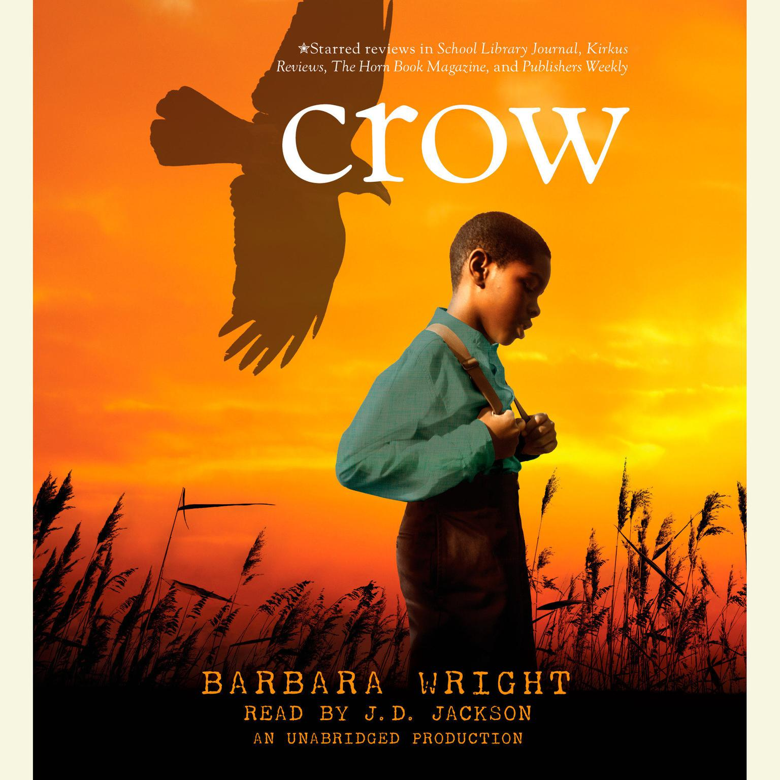 Printable Crow Audiobook Cover Art