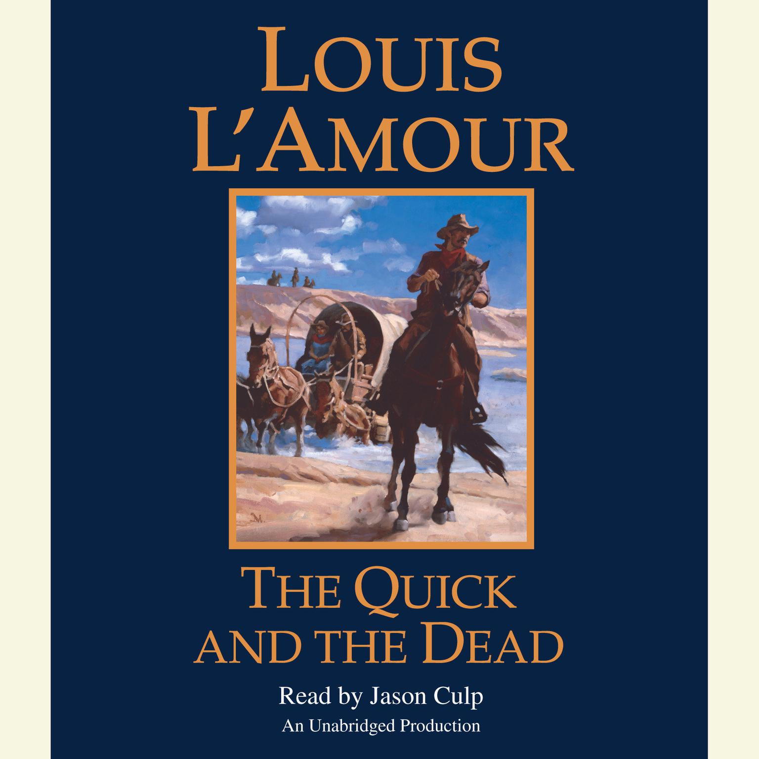 Printable The Quick and the Dead Audiobook Cover Art